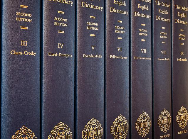 Oxfordský slovník angličtiny (OED)