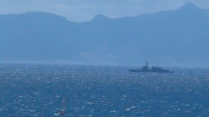 Spanish-ship-in-disputed-waters-near-Gibraltar