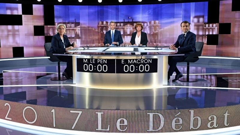 French-presidential-final-TV-debate
