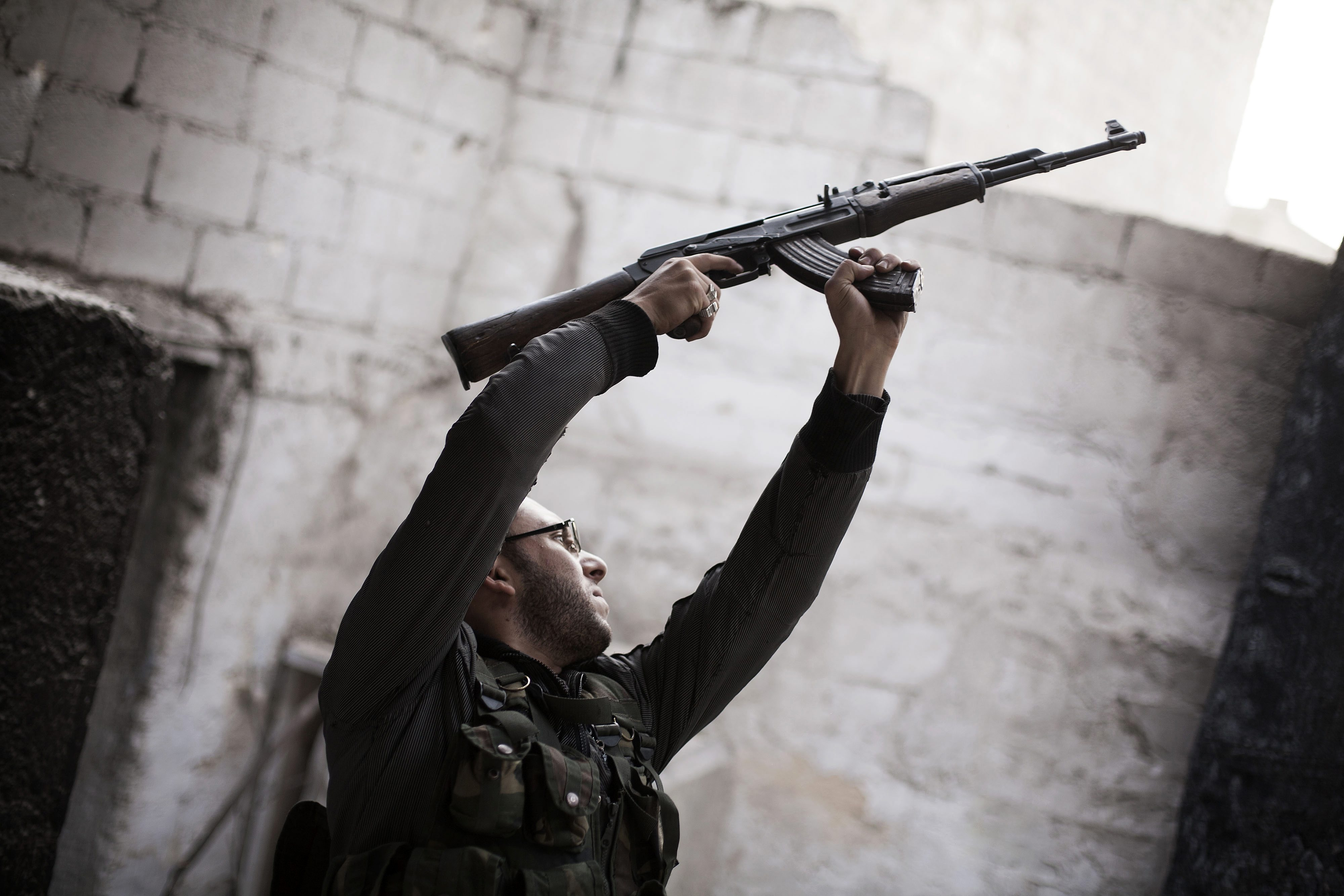 sýrsky konflikt zbrane