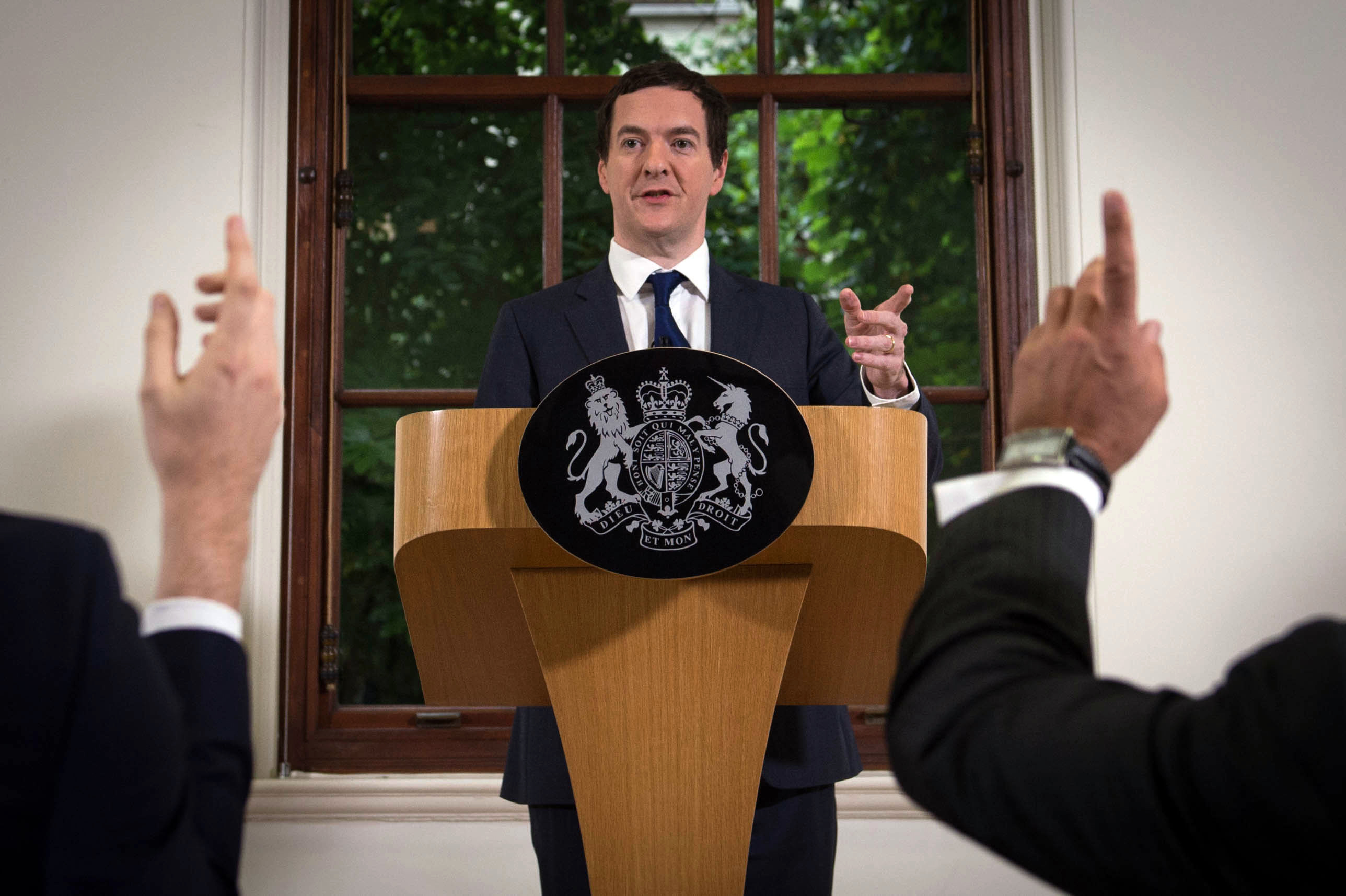George Osborne dane OECD