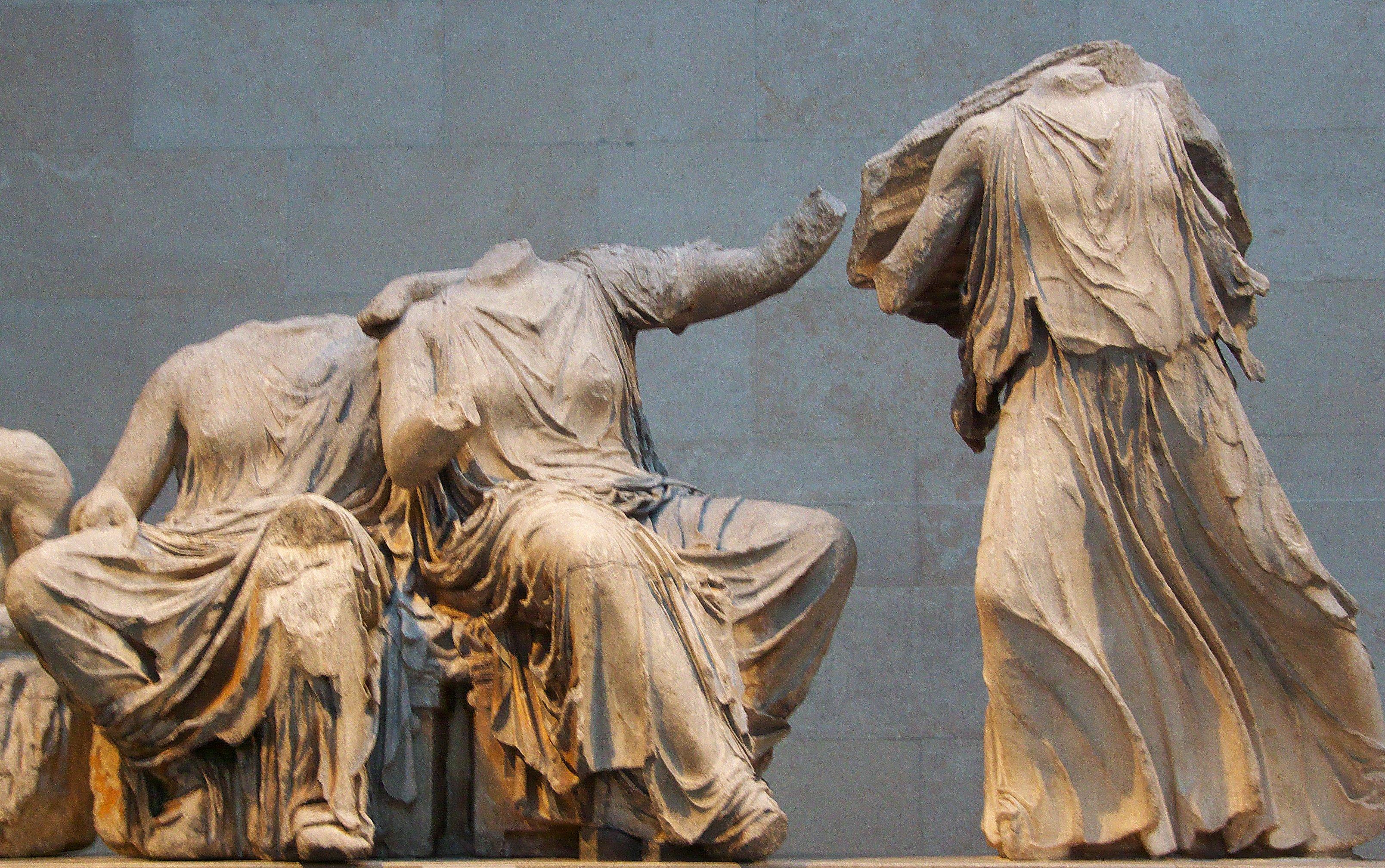 Atény, sochy, Veľká Británia, Grécko