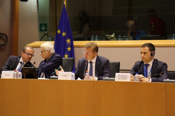 slovenské predsedníctvo brexit energetická bezpečnosť jadrová energia Peter Žiga