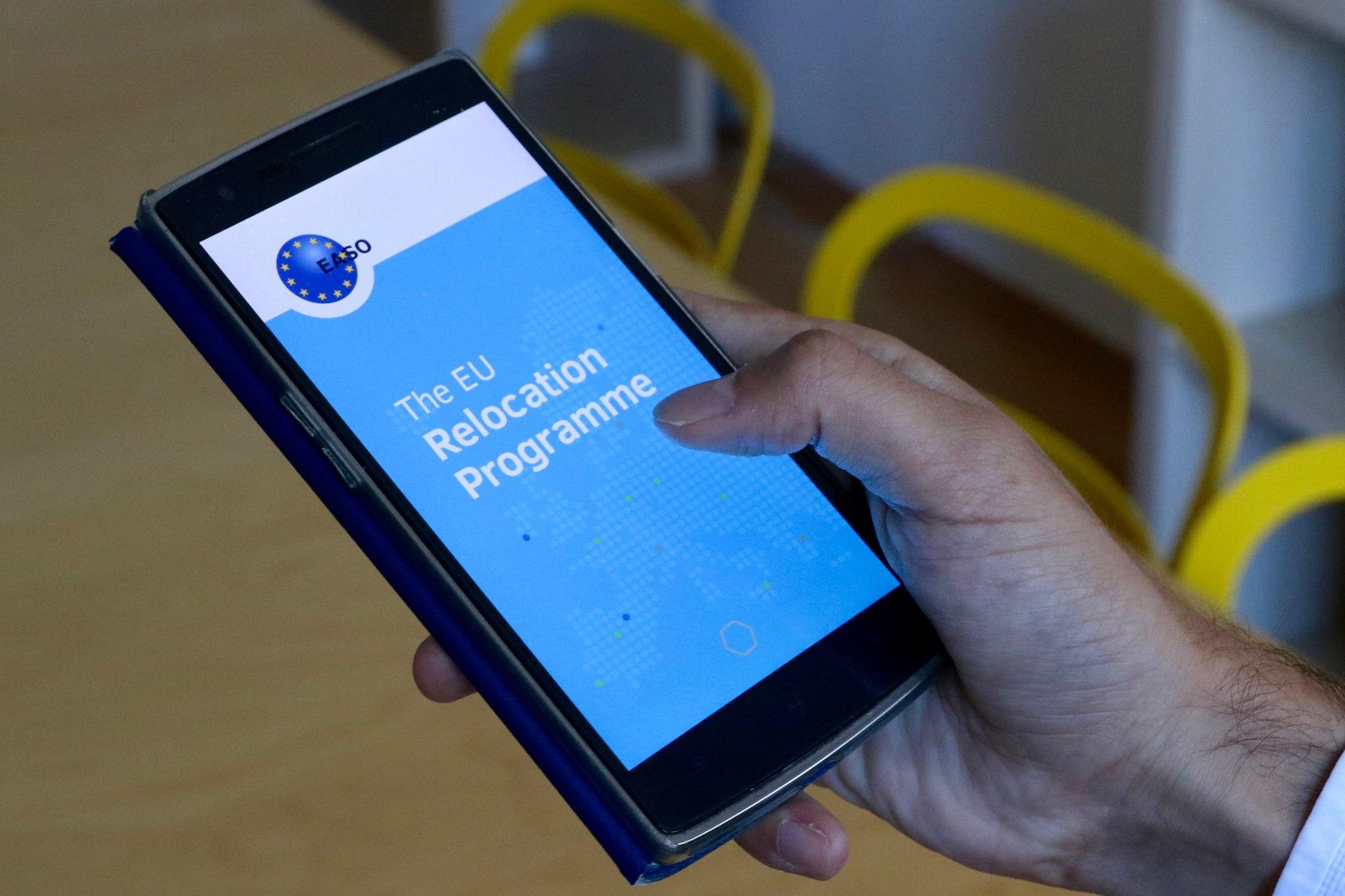 Európsky podporný úrad pre azyl, EASO, mobilná aplikácia, utečenci