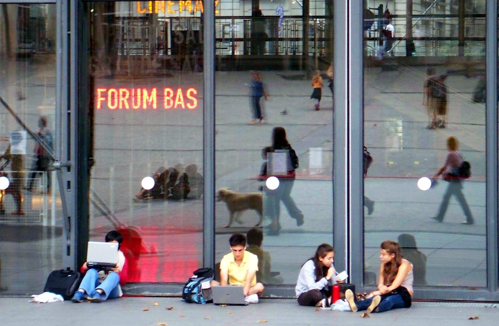 Paríž, Centre Pompidou, internet