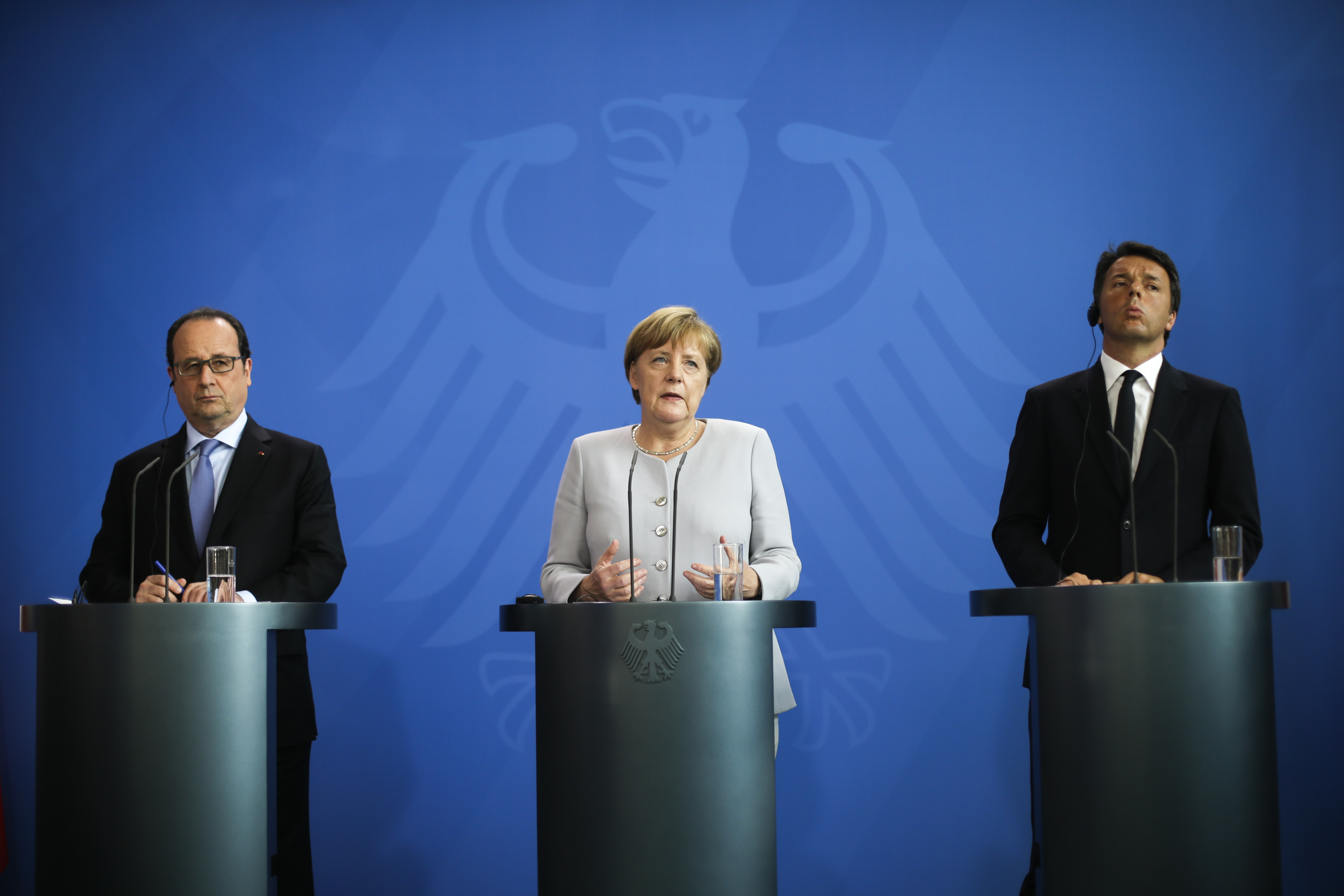 Taliansko, Nemecko, Francúzsko, Brexit