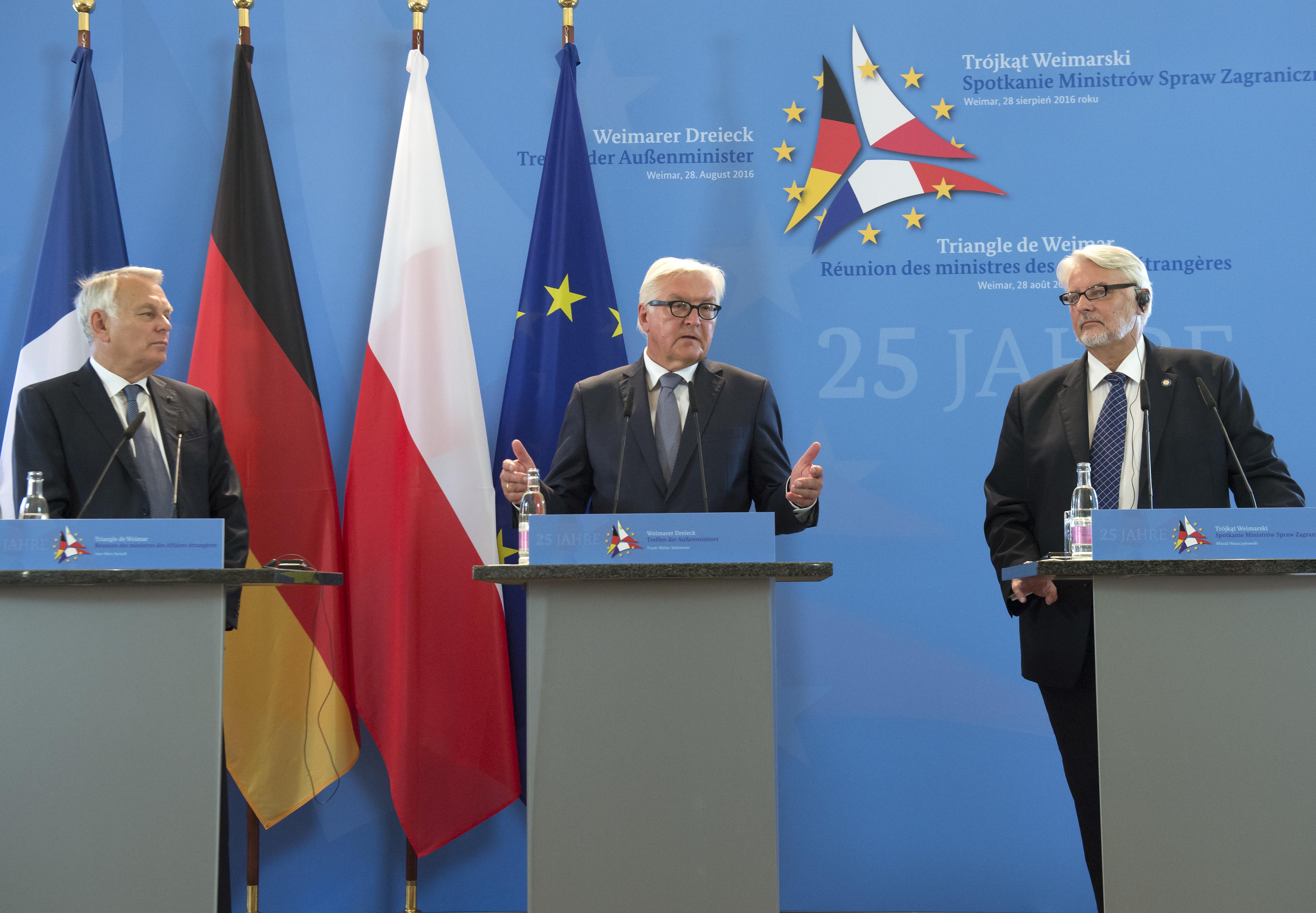 Weimarský trojuholník bezpečnostná rada