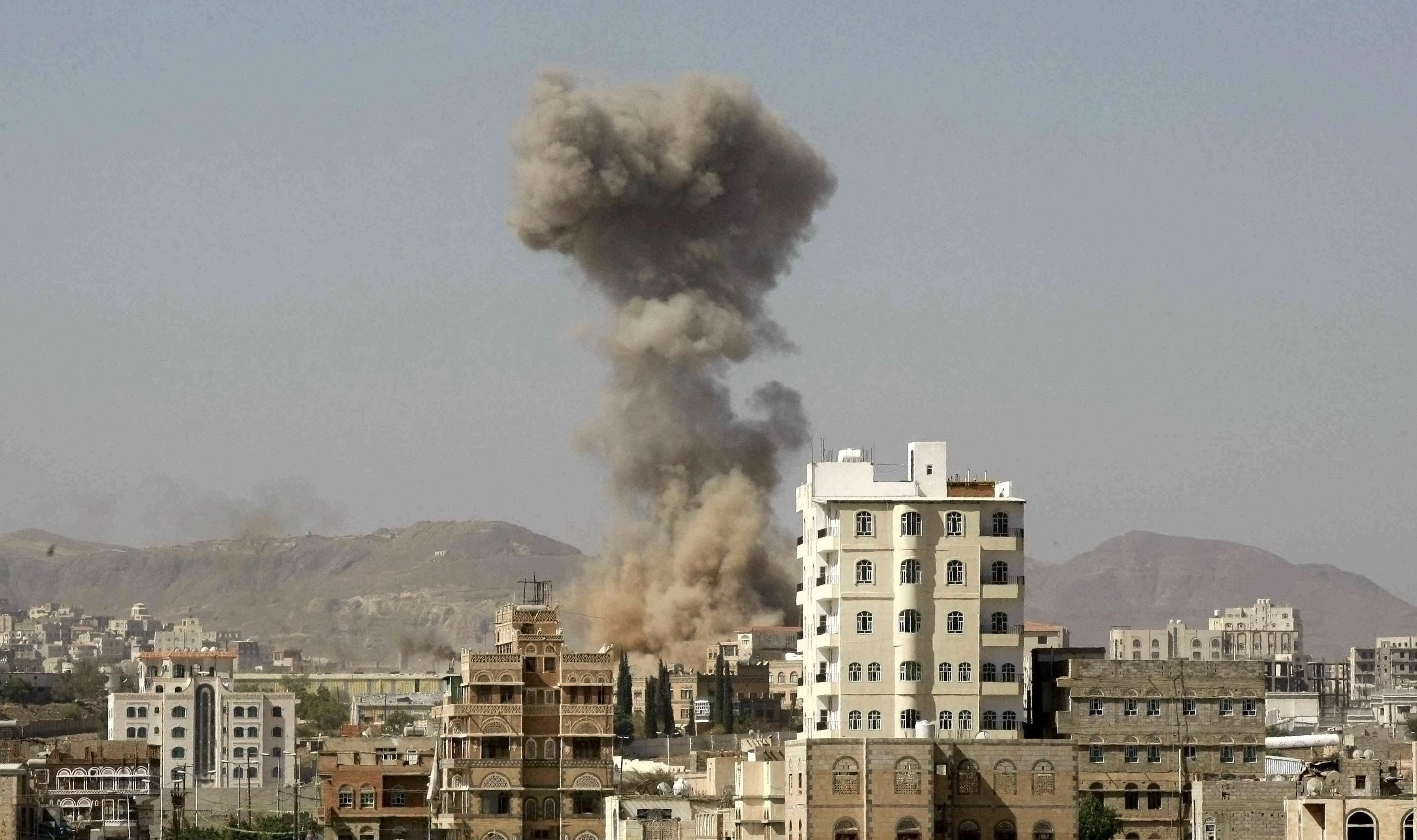 Saná, Jemen, Saudská Arábia, občianska vojna