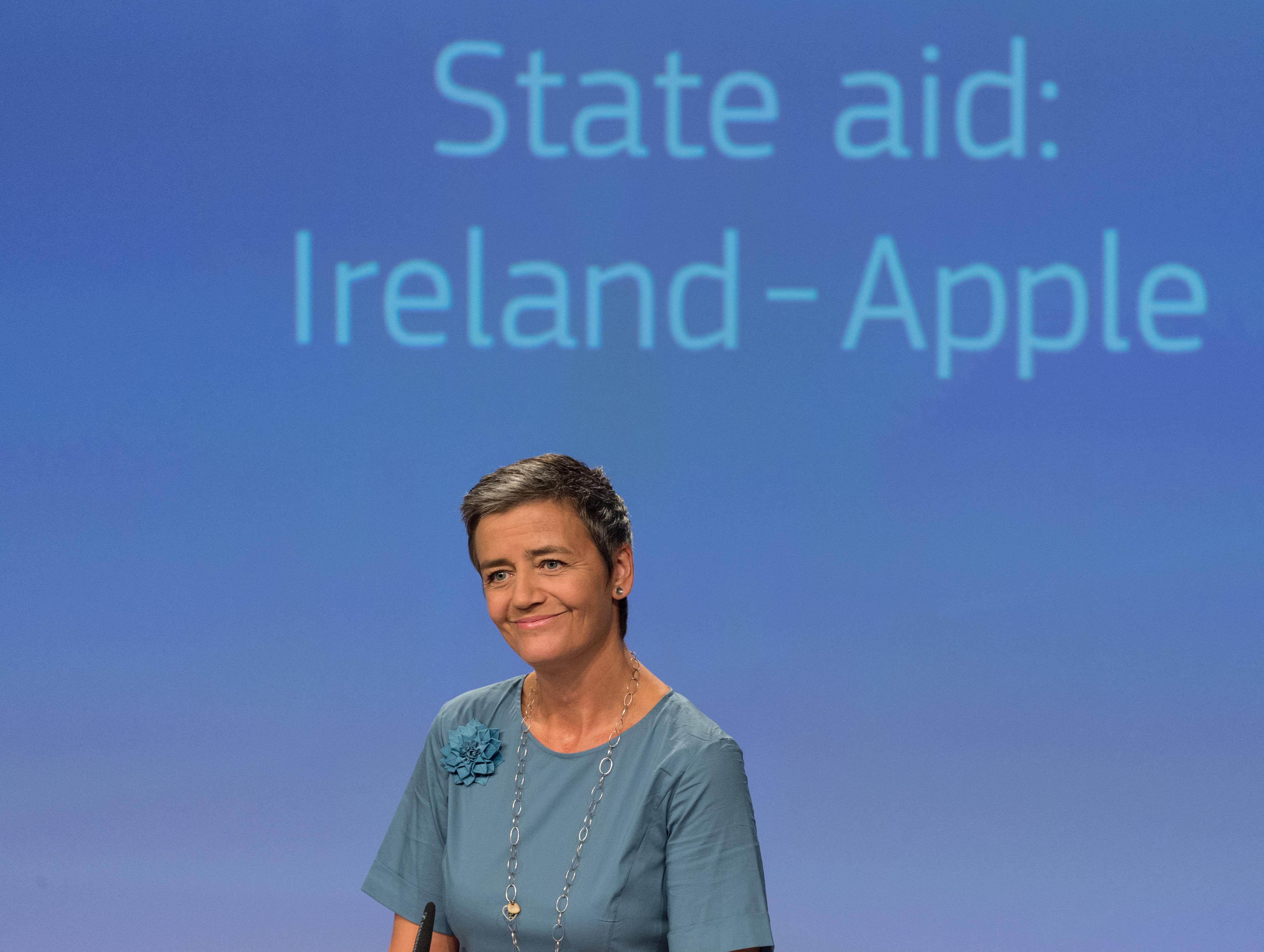 Apple, Írsko, daňové úľavy