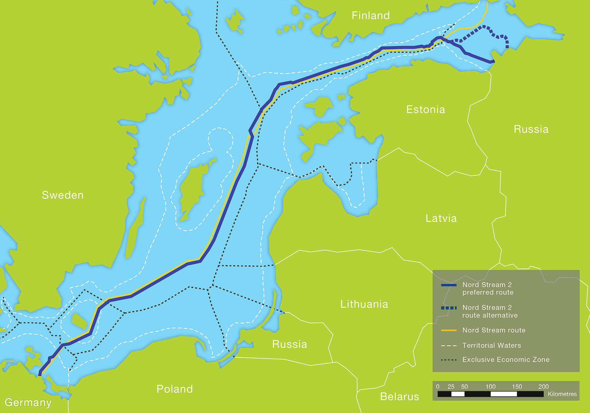 Nord Stream 2 plynovod Gazprom