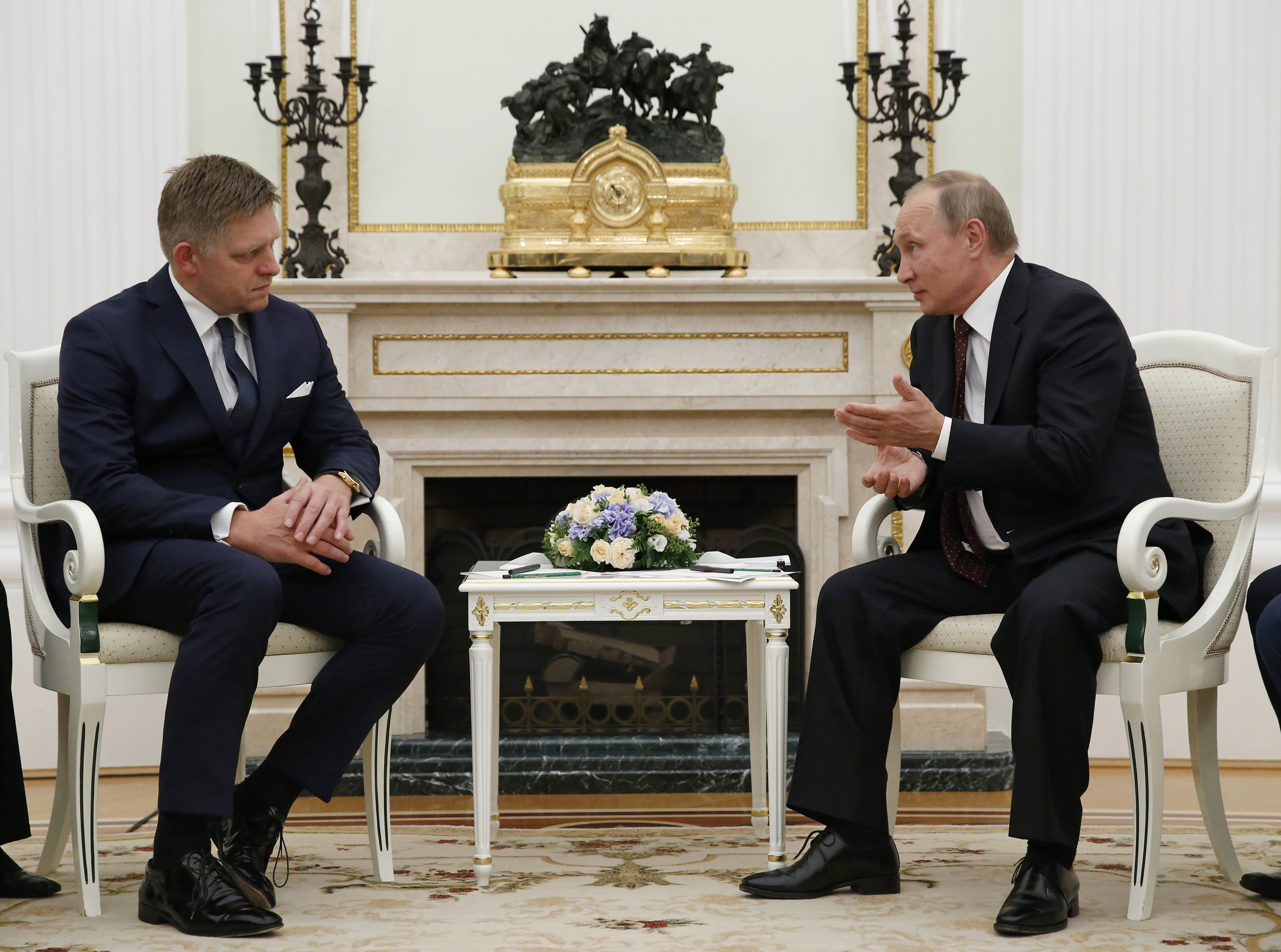 Moskva, Vladimir Putin, Robert Fico
