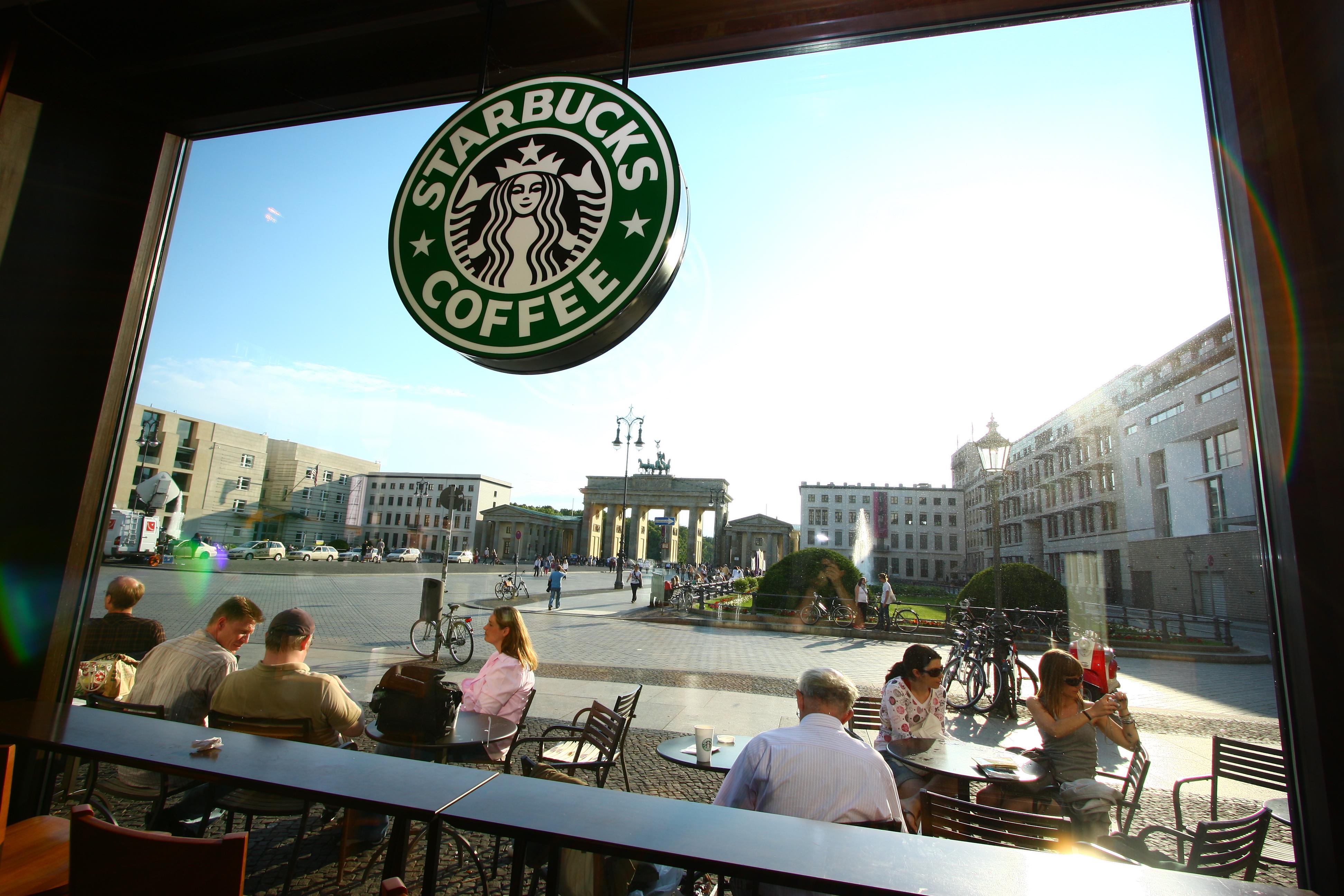 Berlín, Starbucks, daňové zvýhodnenie