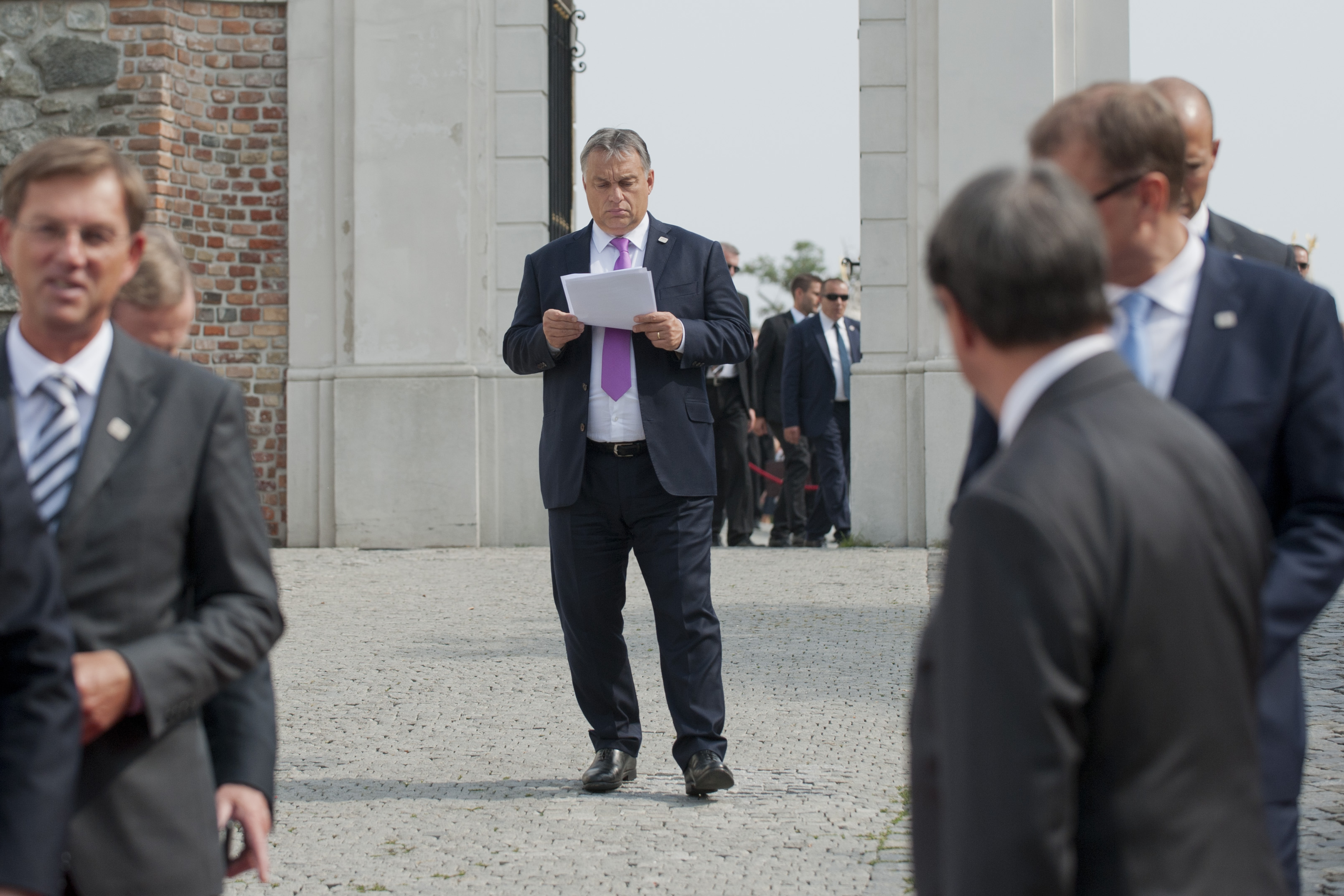 Vyšehradská štvorka V4 bratislavský summit