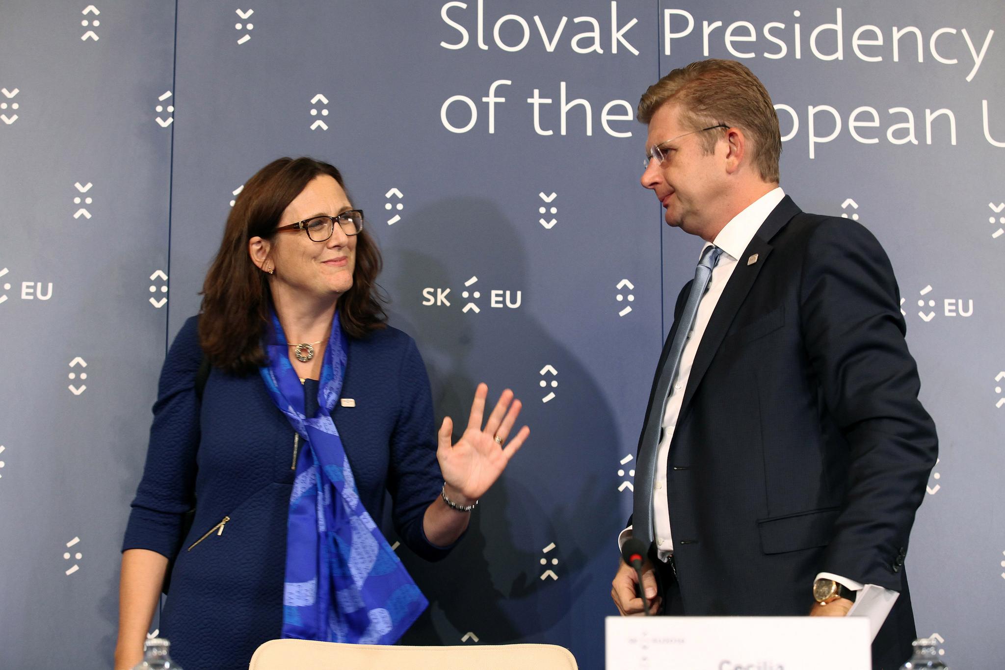 TTIP, Malmströmová