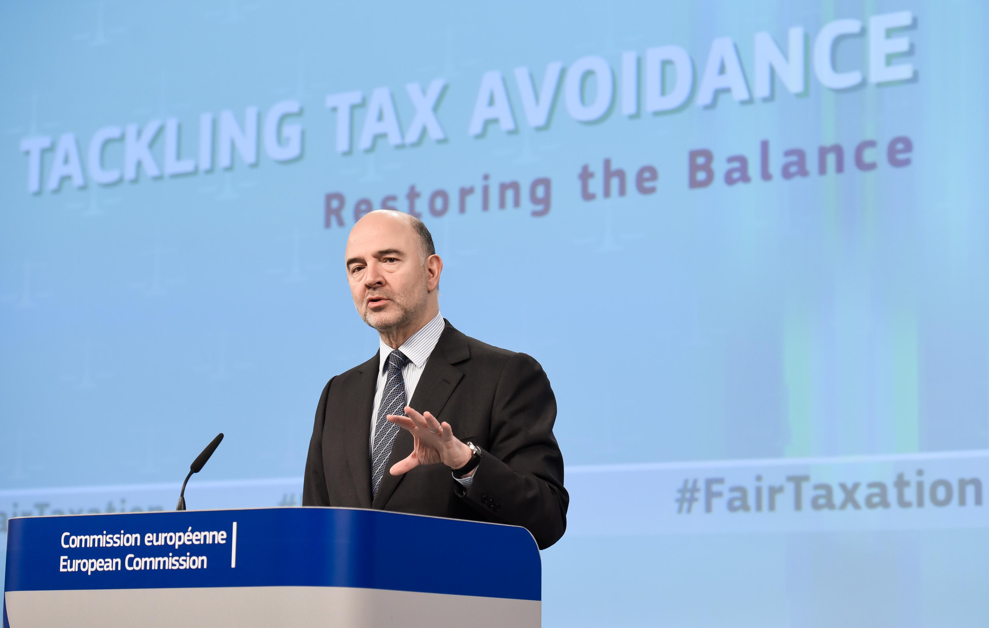 Pierre Moscovici, daňové úniky
