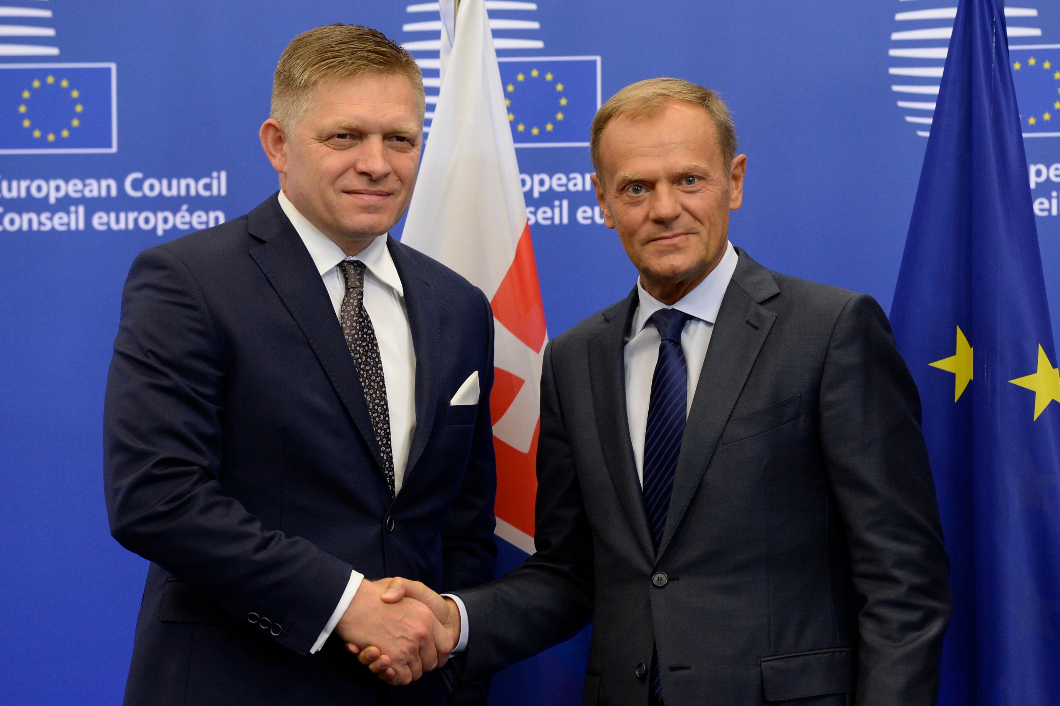Bratislavský summit, Brusel, Európska rada