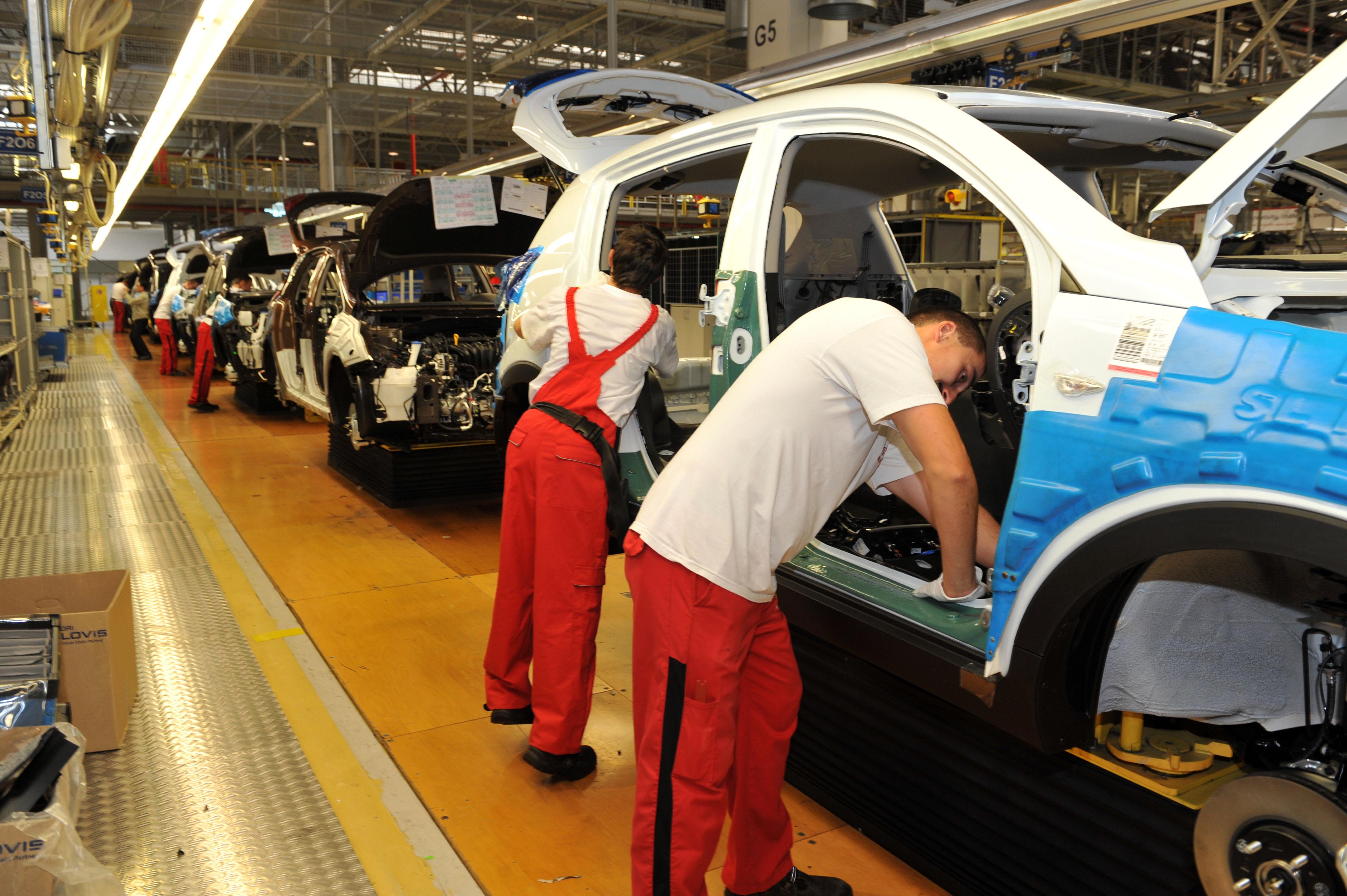 automobilka, hospodársky rast