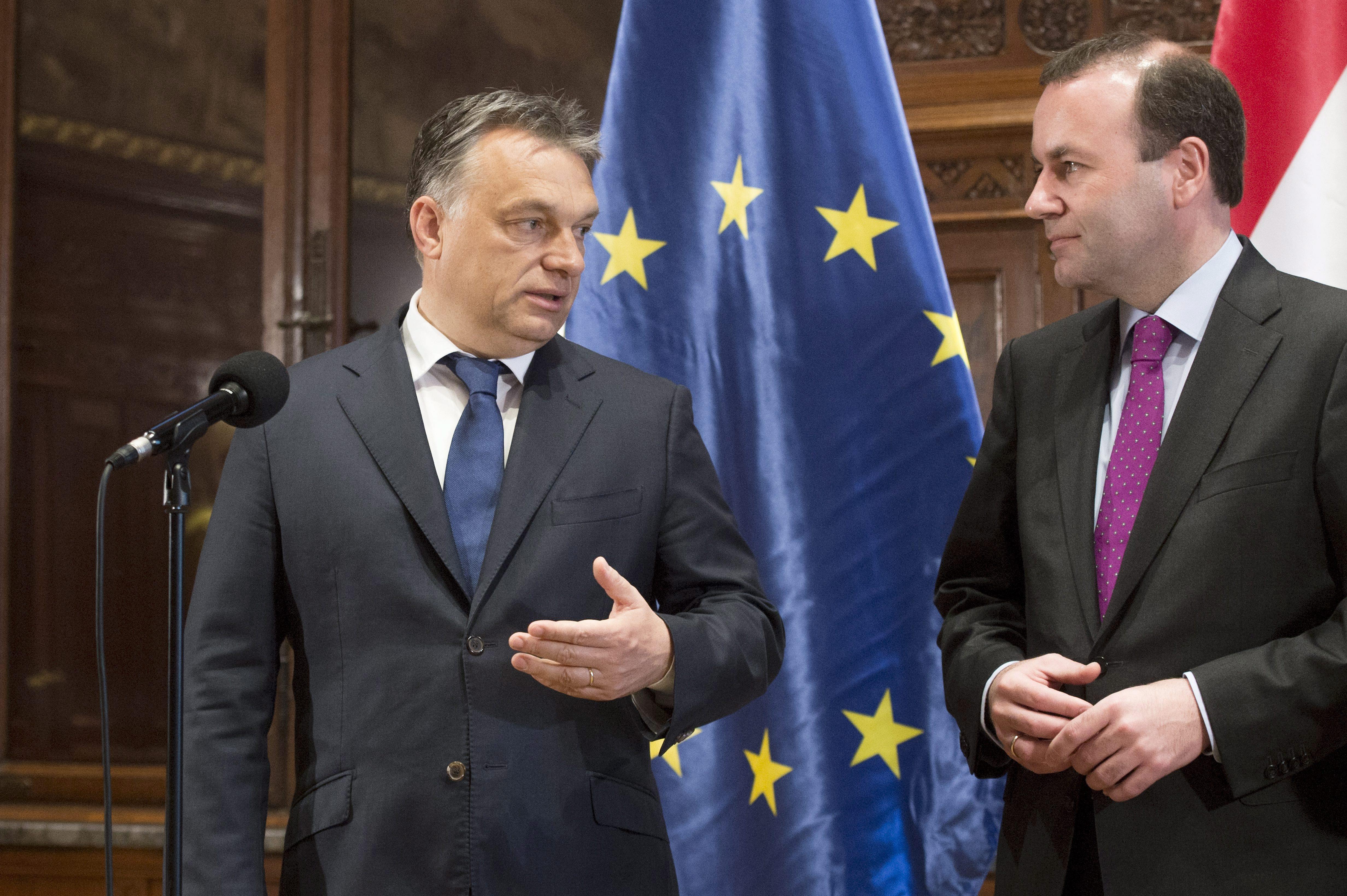 orbán, weber