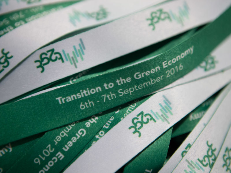 Konferencia Transition to the Green Economy.