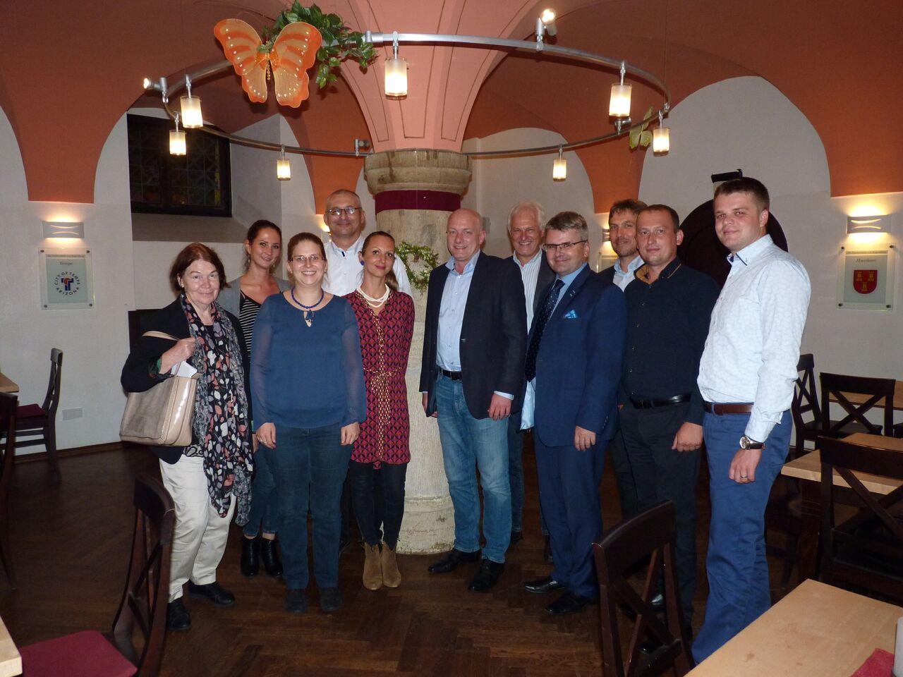 FES: Slovenski primatori v Bavorsku