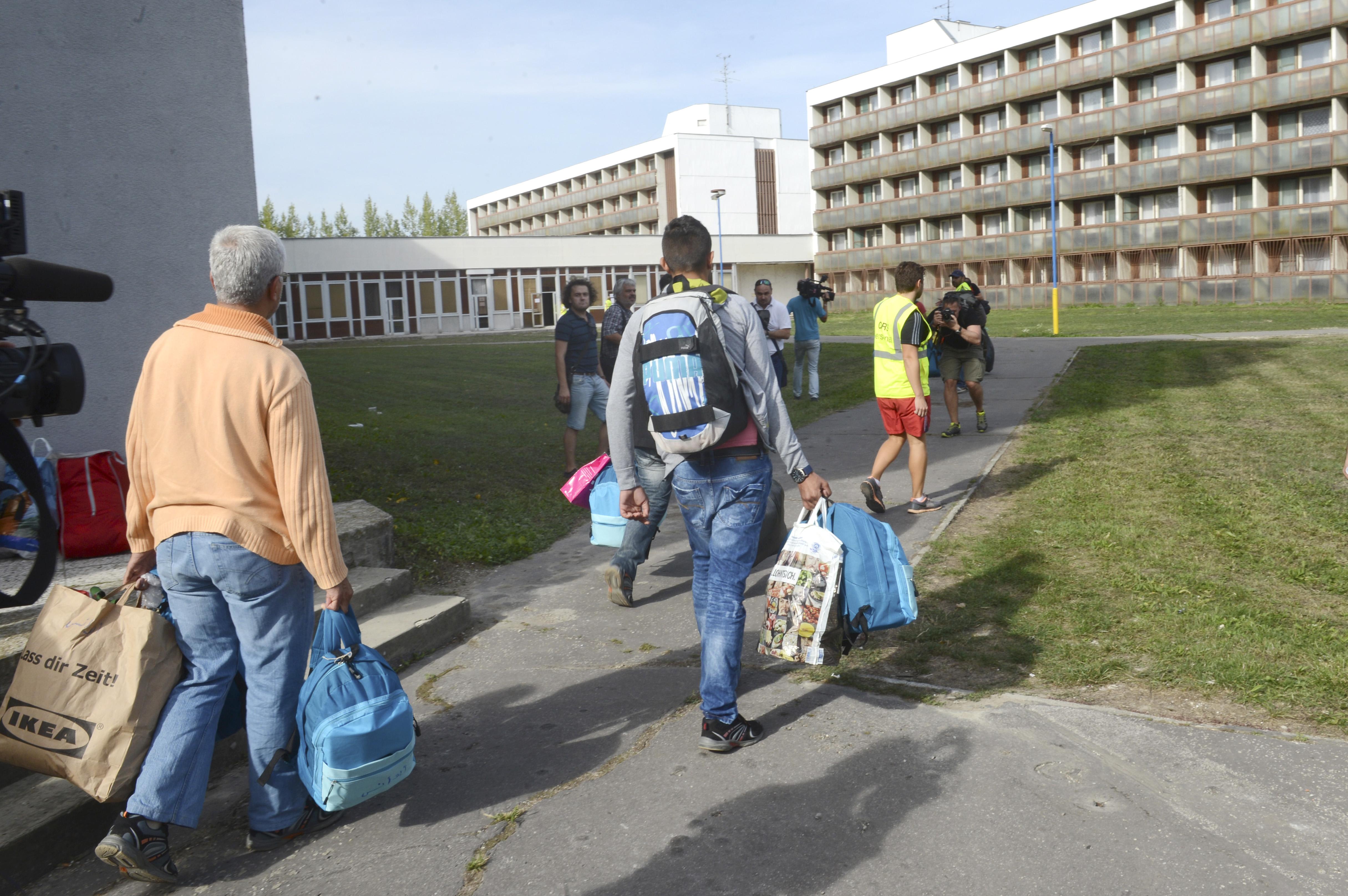 Gabčíkovo Slovensko utečenci