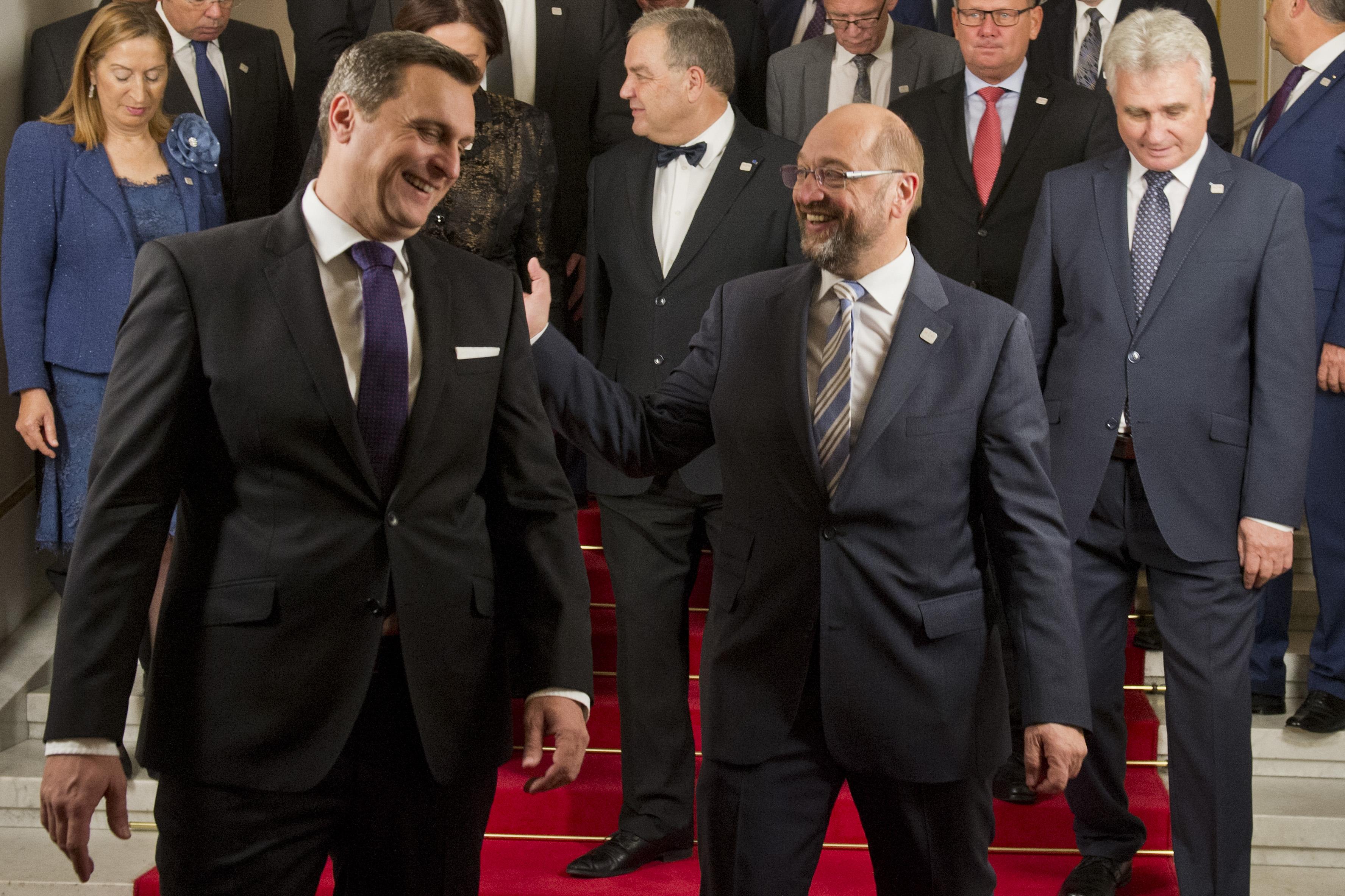 summit predsedov parlamentov EÚ