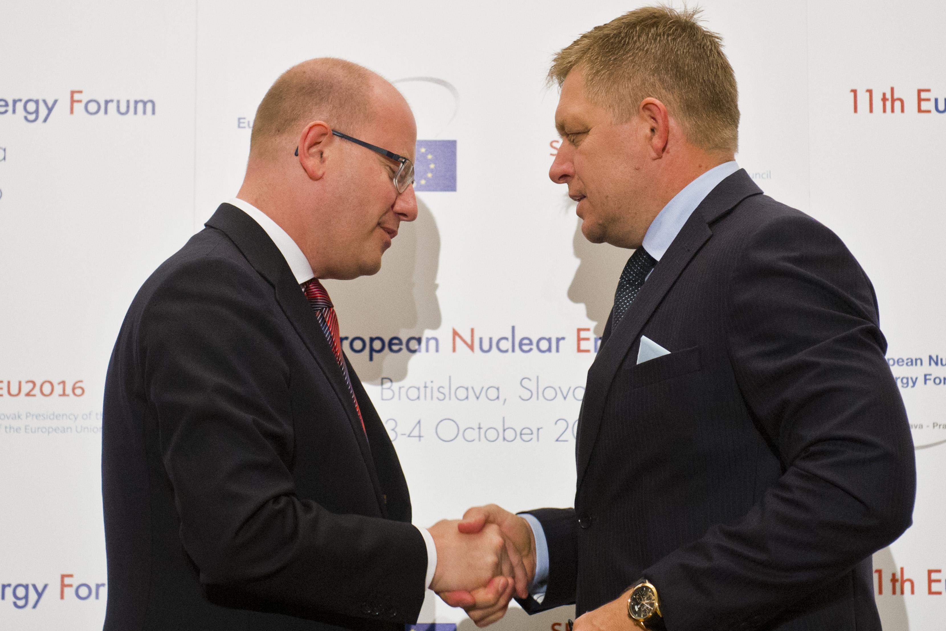 jadrová energia, Fico, Sobotka