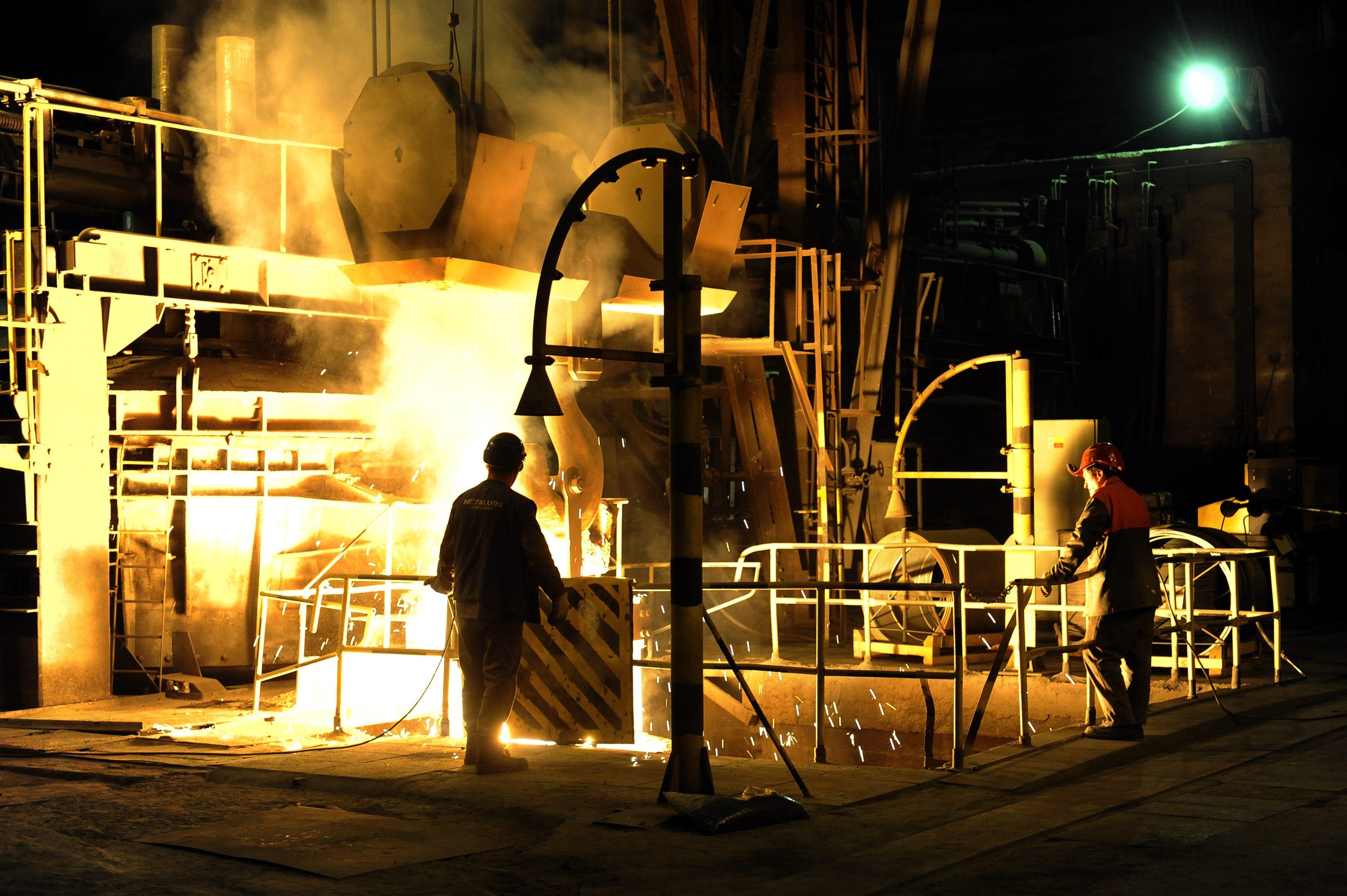 čínska oceľ, dubnický metalurgický kombinát