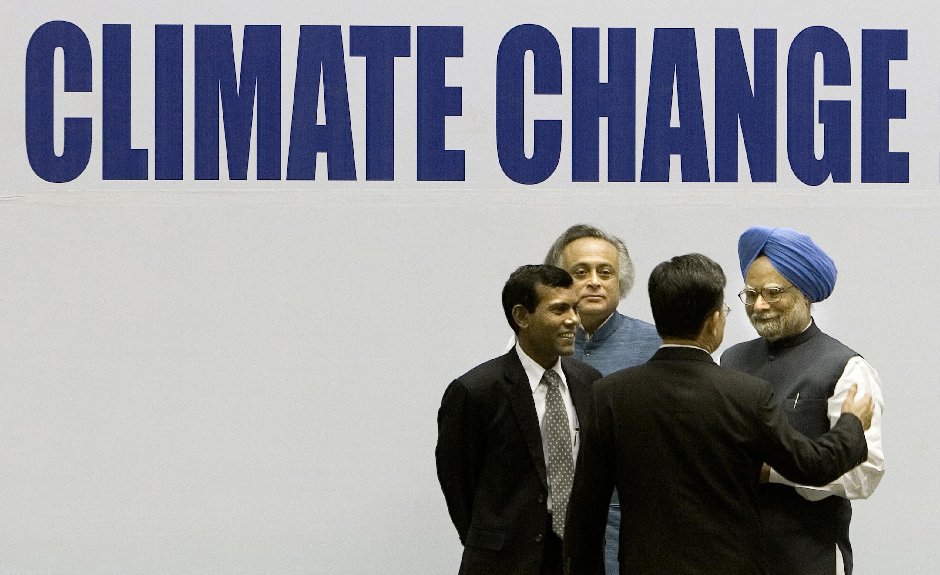 COP15, COP21, COP22, Parížska dohoda