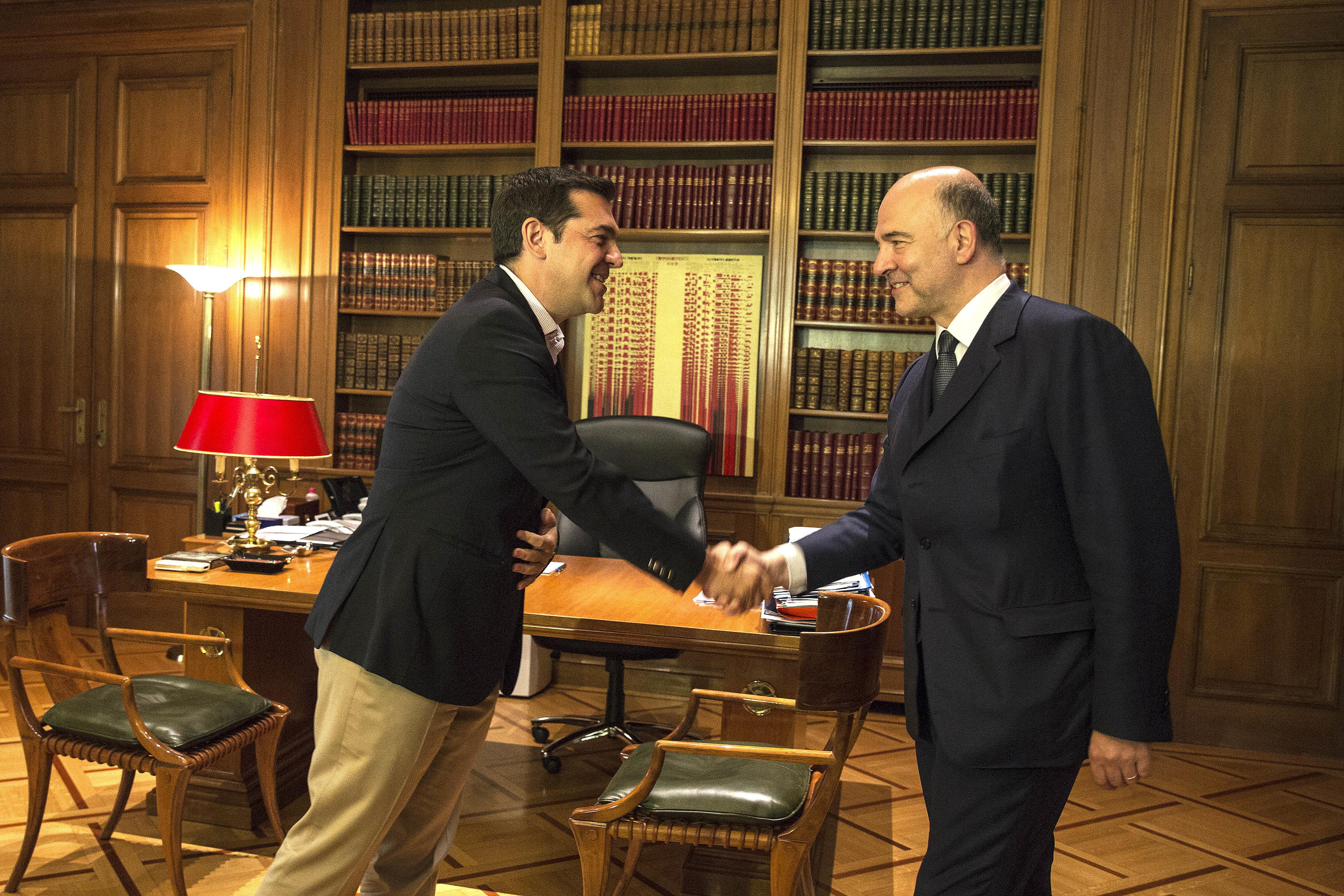 Tsipras Moscovici