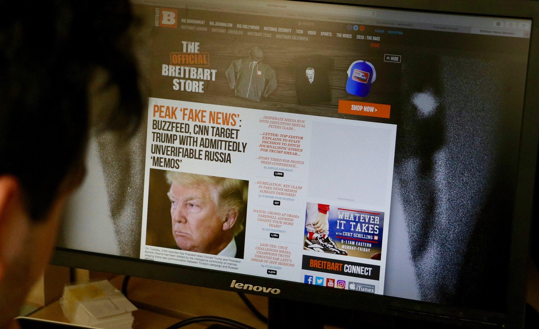 Nemecko, Breitbart, falošné správy