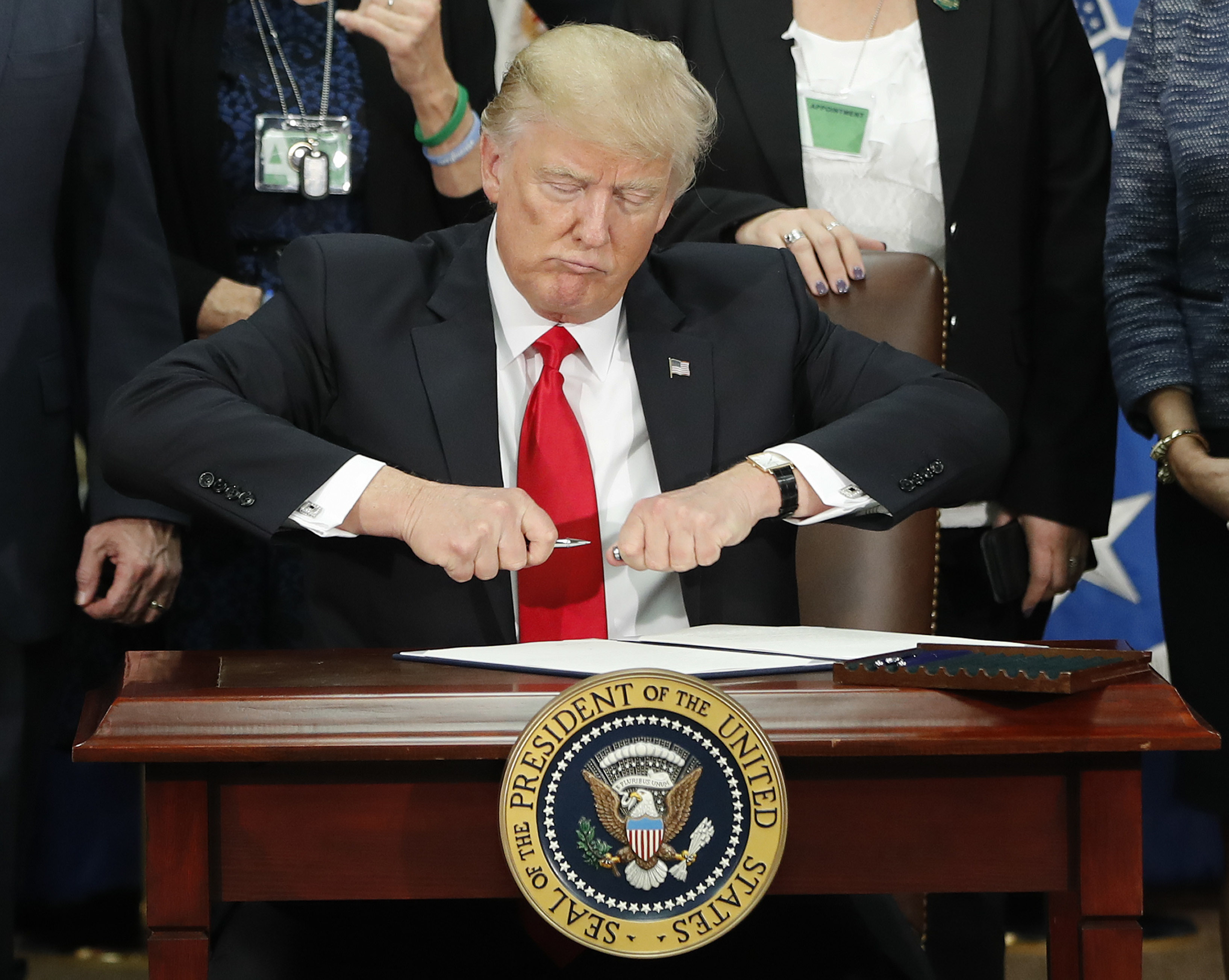 Donald Trump, zákaz, moslimovia, Irán, utečenci