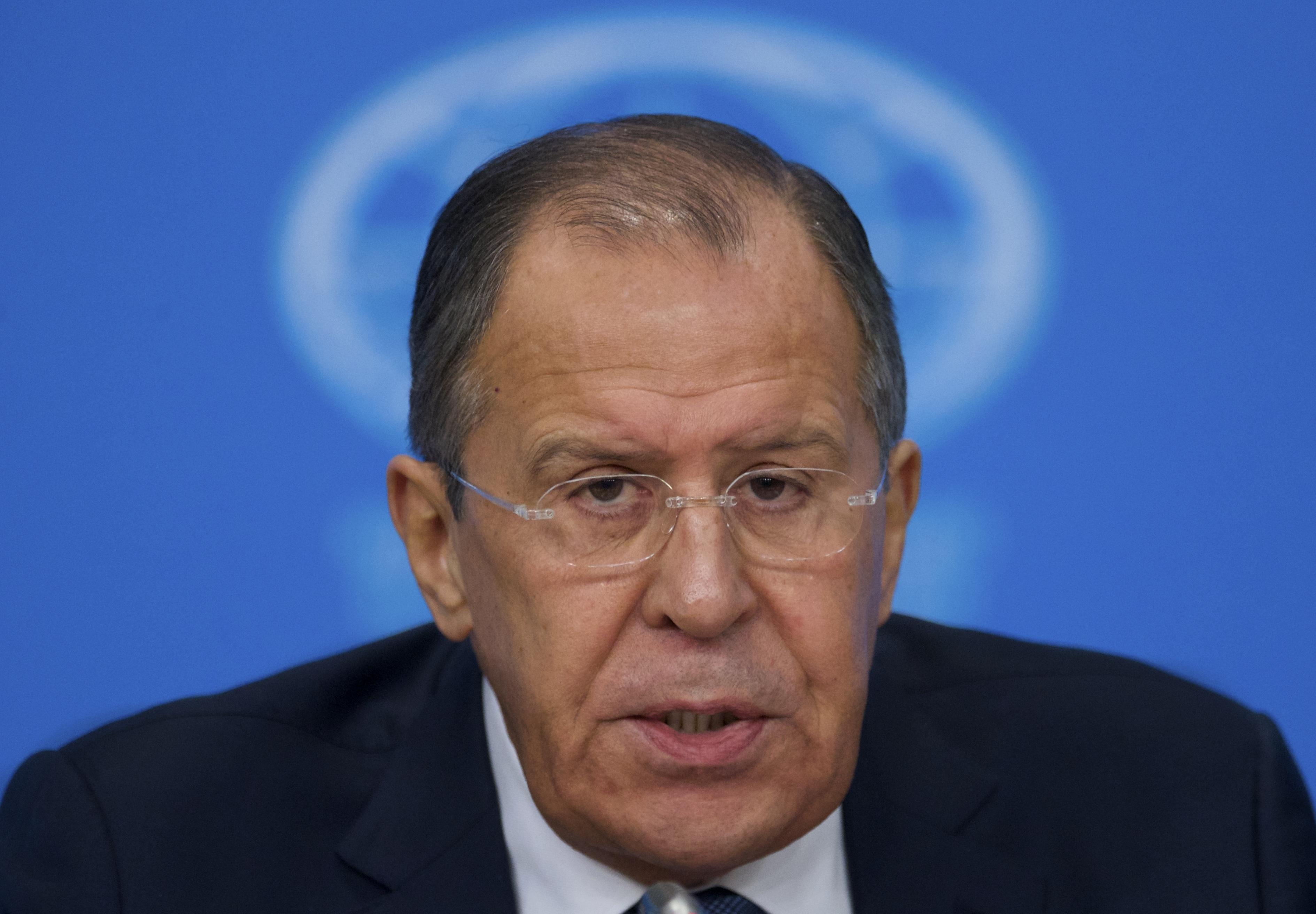 Sergej Lavrov, Rusko, USA, Sýria