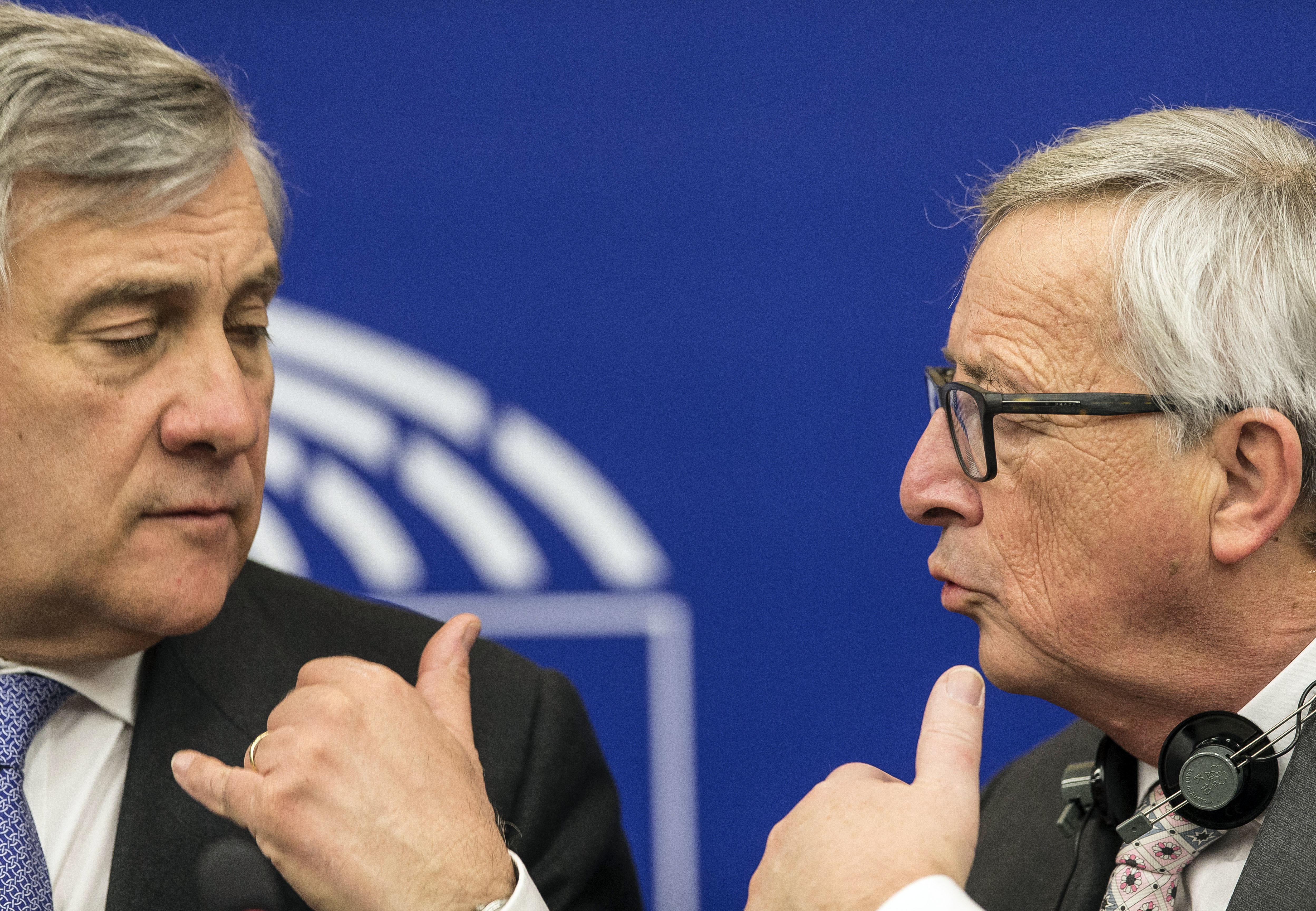 Tajani Juncker