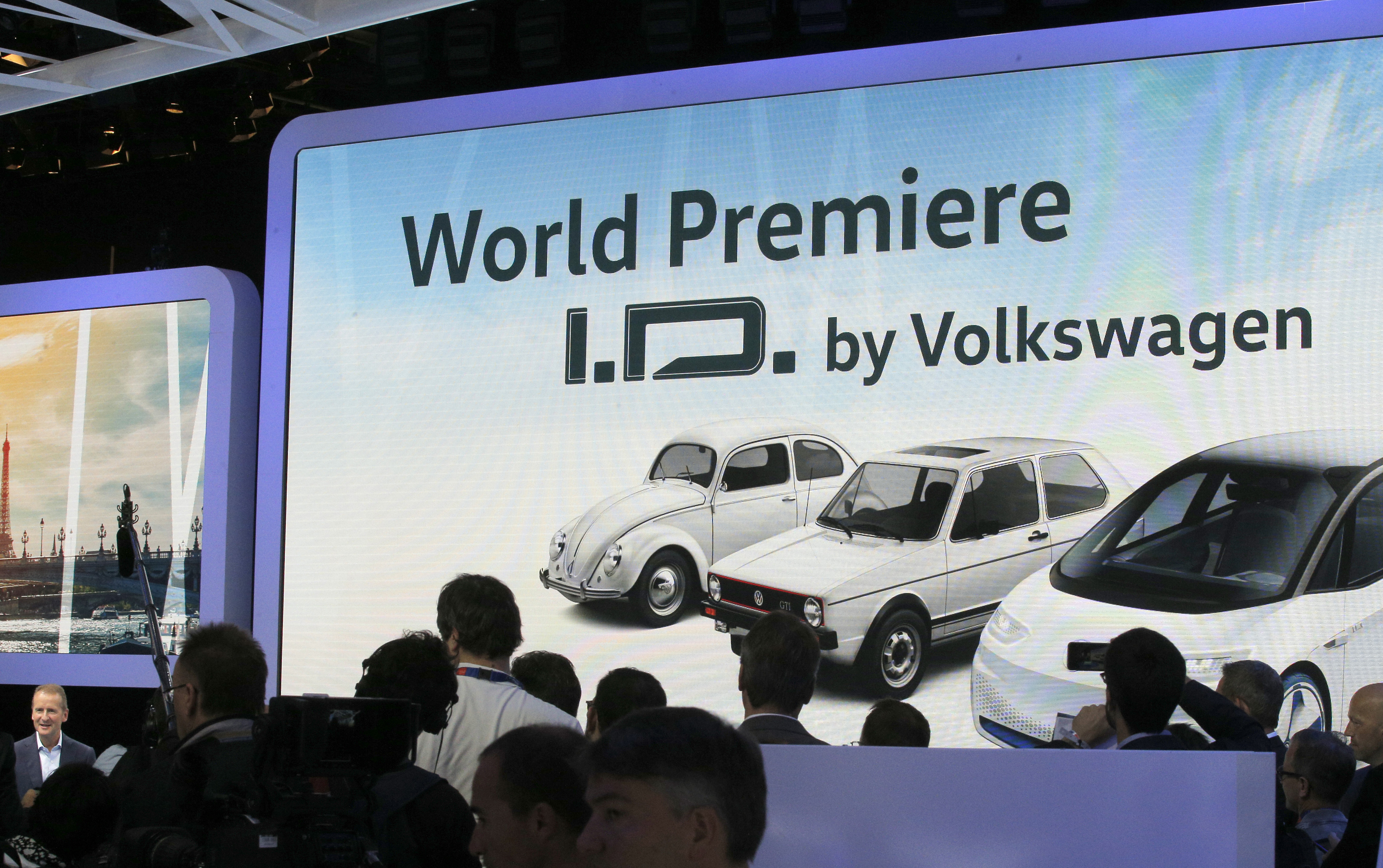 VW, Parížsky autosalón