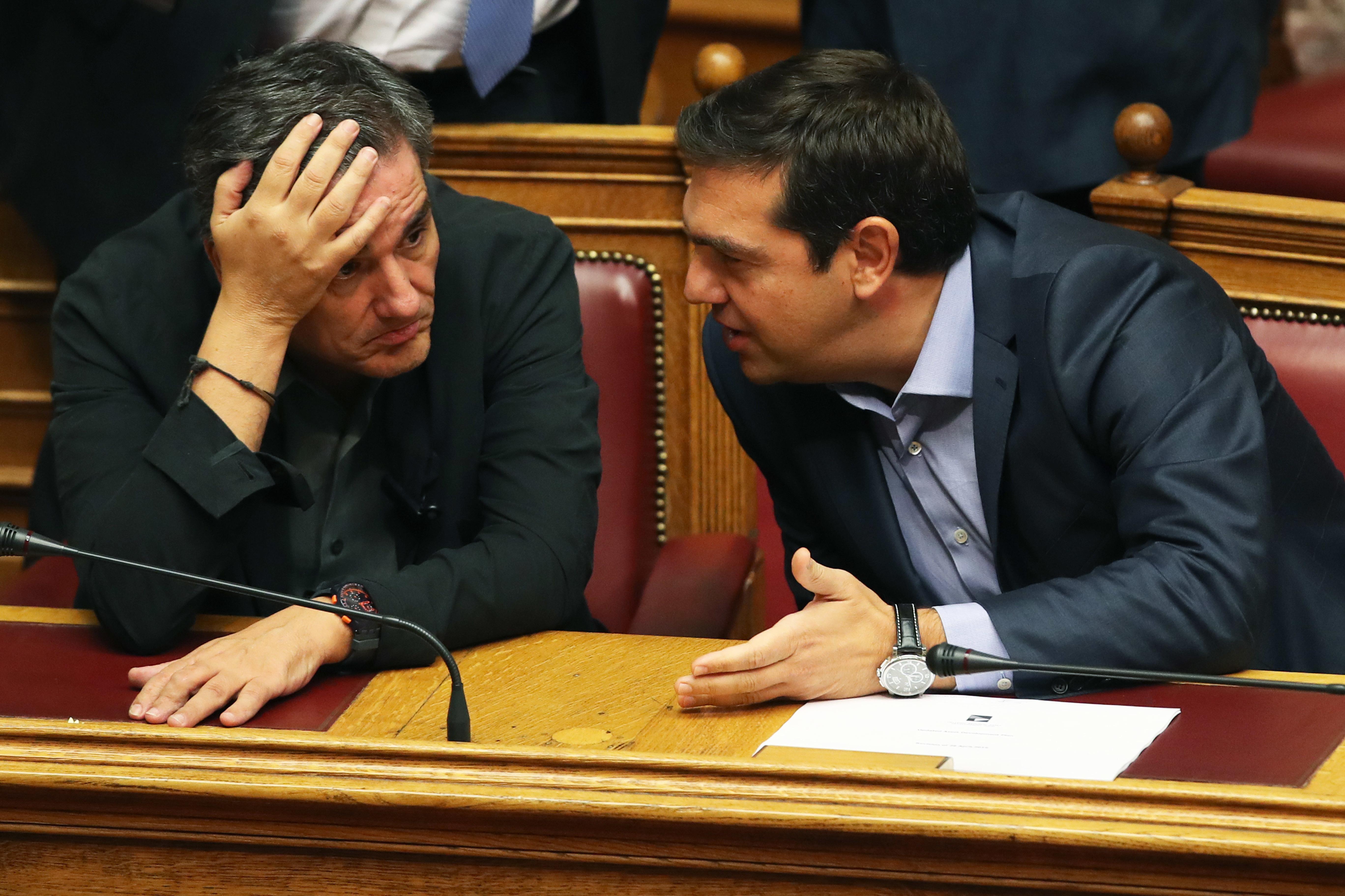 Euclid Tsakalotos, Alexis Tsipras