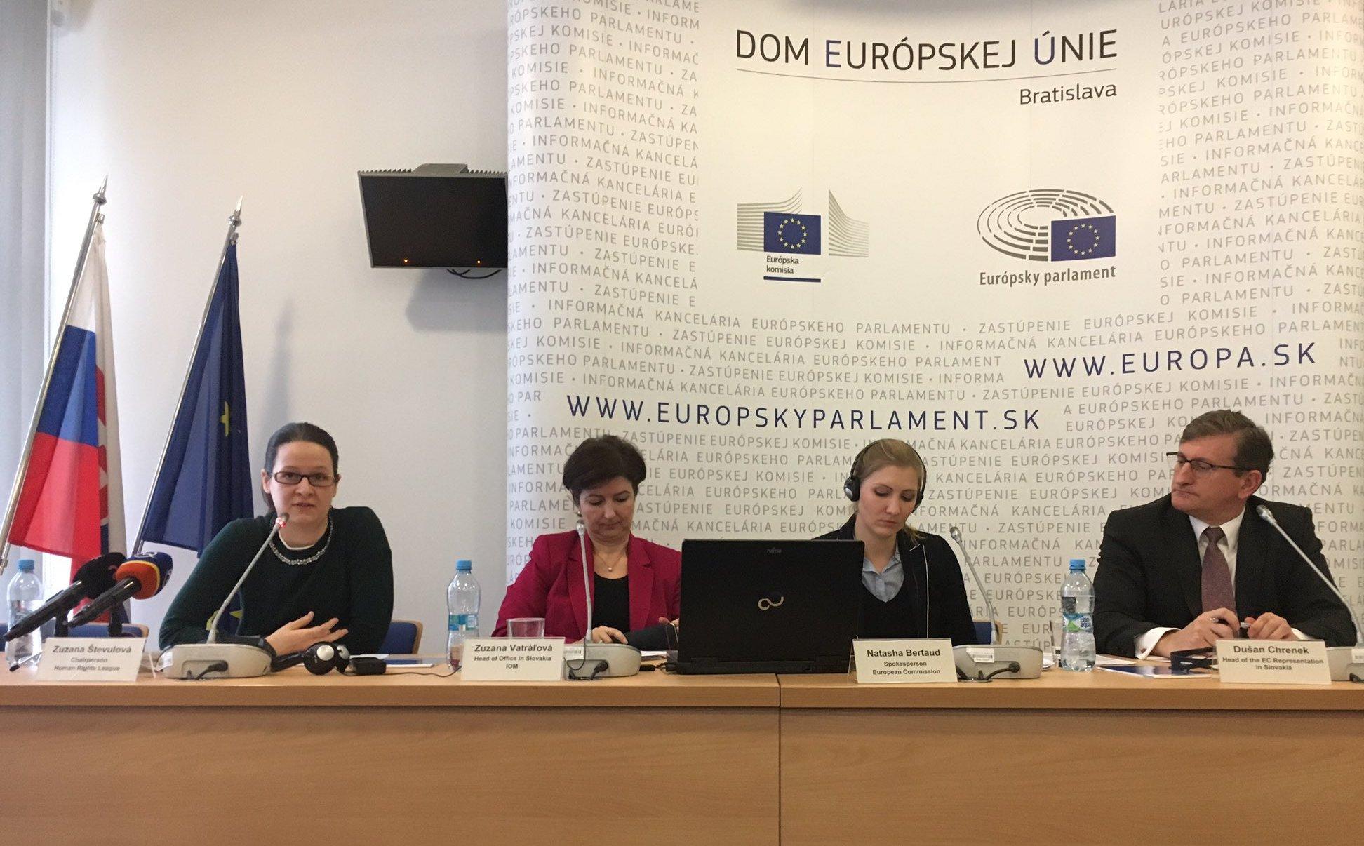 migrácia, ZEK, Dušan Chrenek, Európska komisia