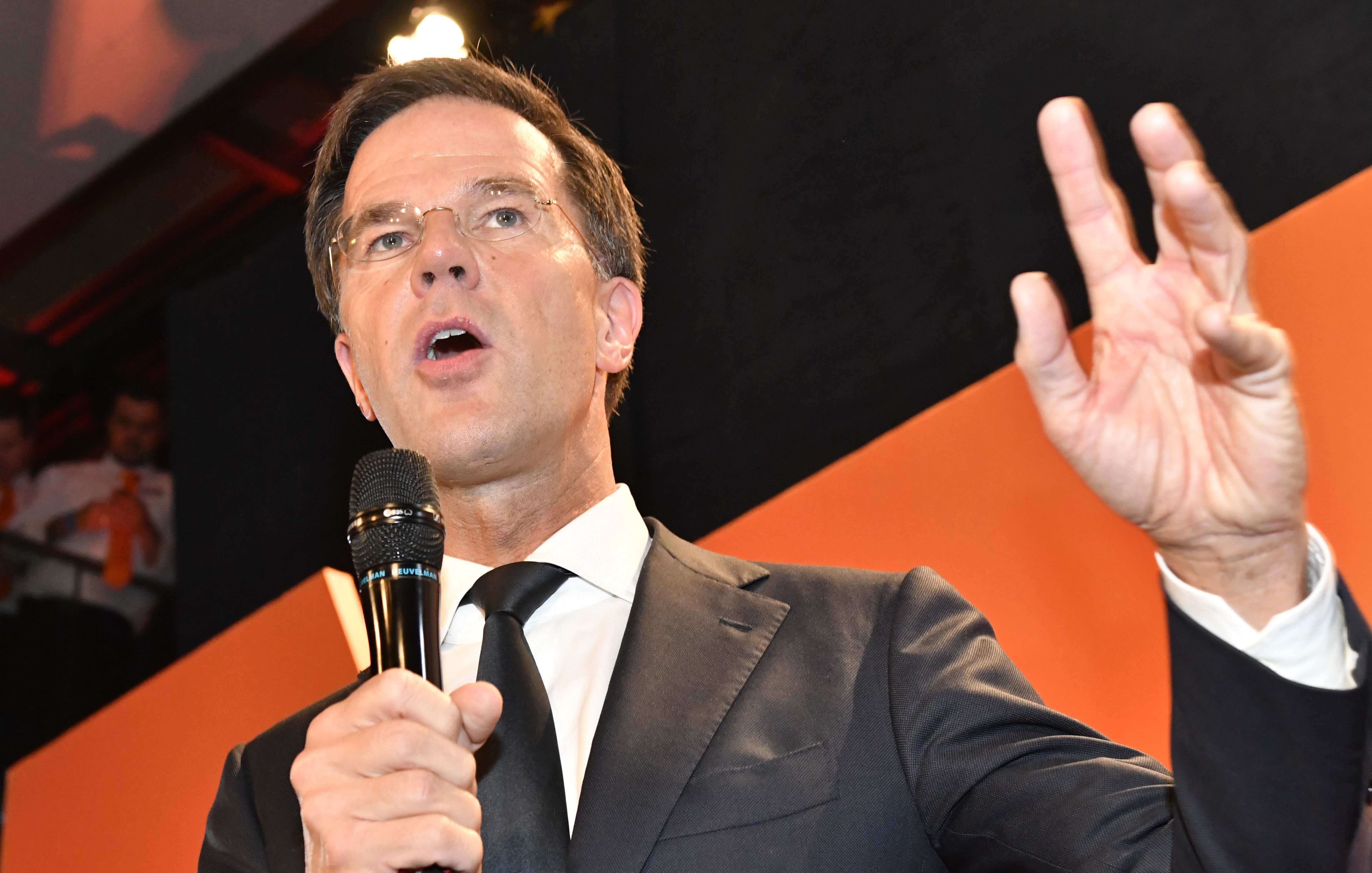 Premiér Mark Rutte