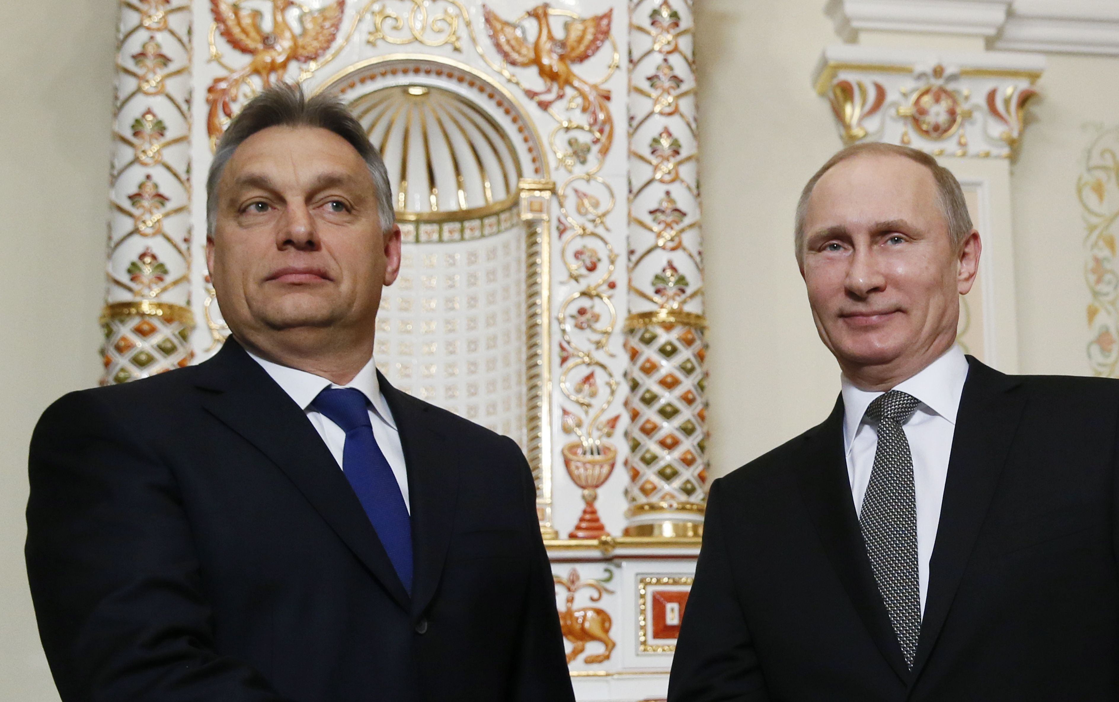 Viktor Orbán, Vladimir Putin