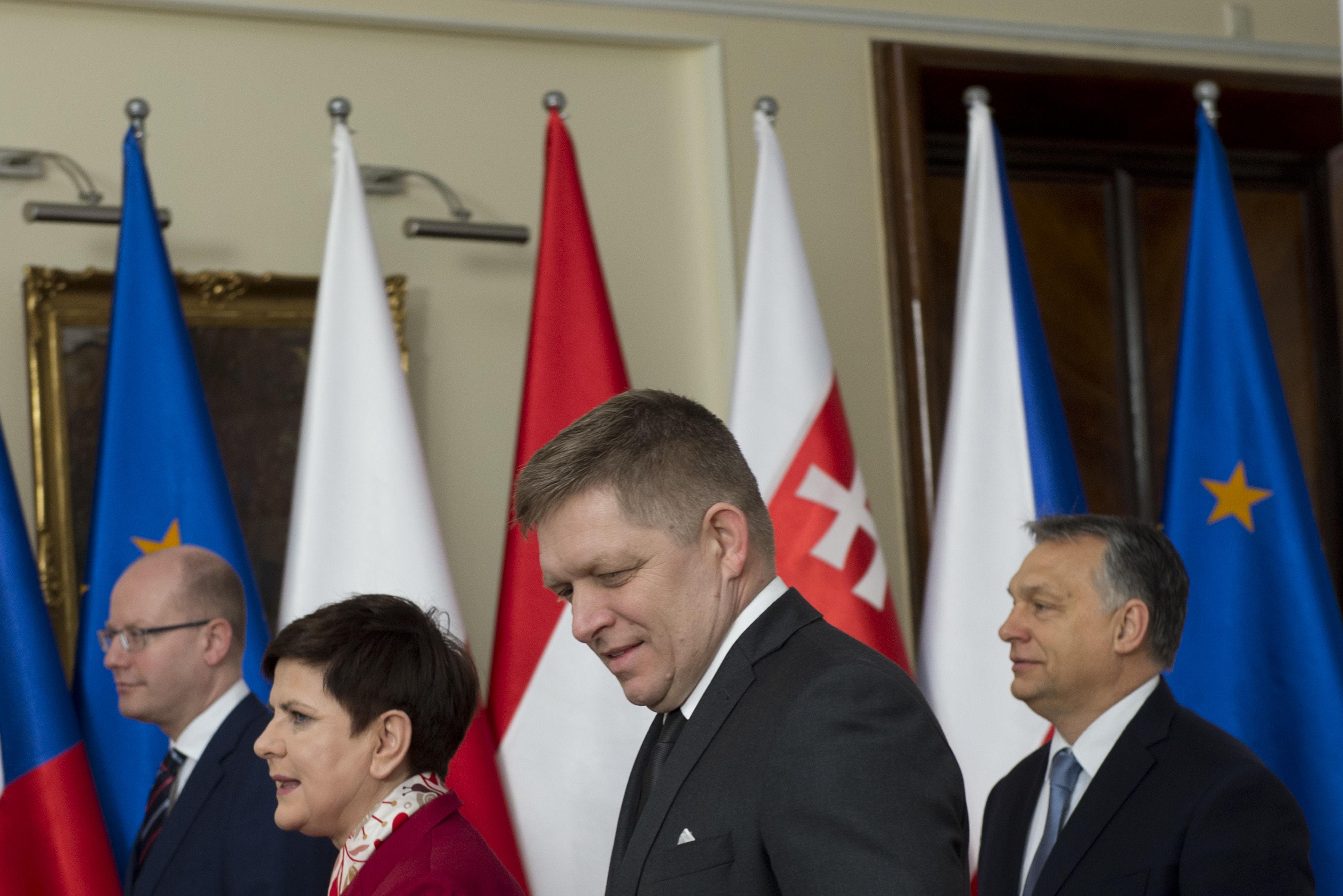 V4, Vyšehradská skupina, Rusko, Ukrajina