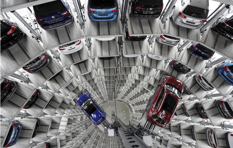 Fabrika Volkswagenu v Nemecku