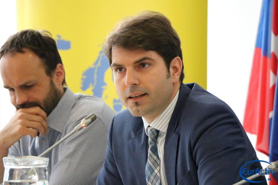 Norbert Kurilla (vpravo) a Daniel Lešinský
