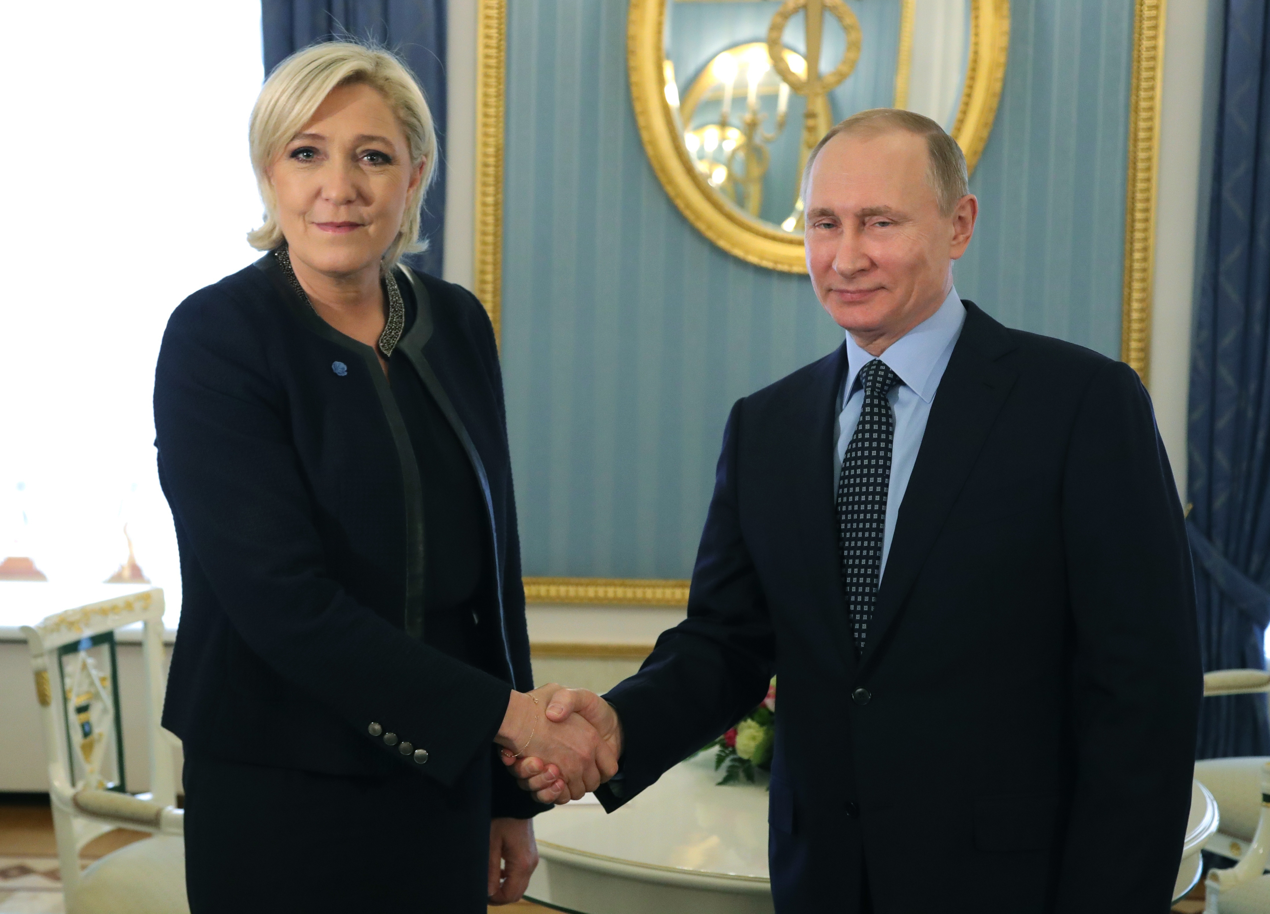 Le Penová, Putin