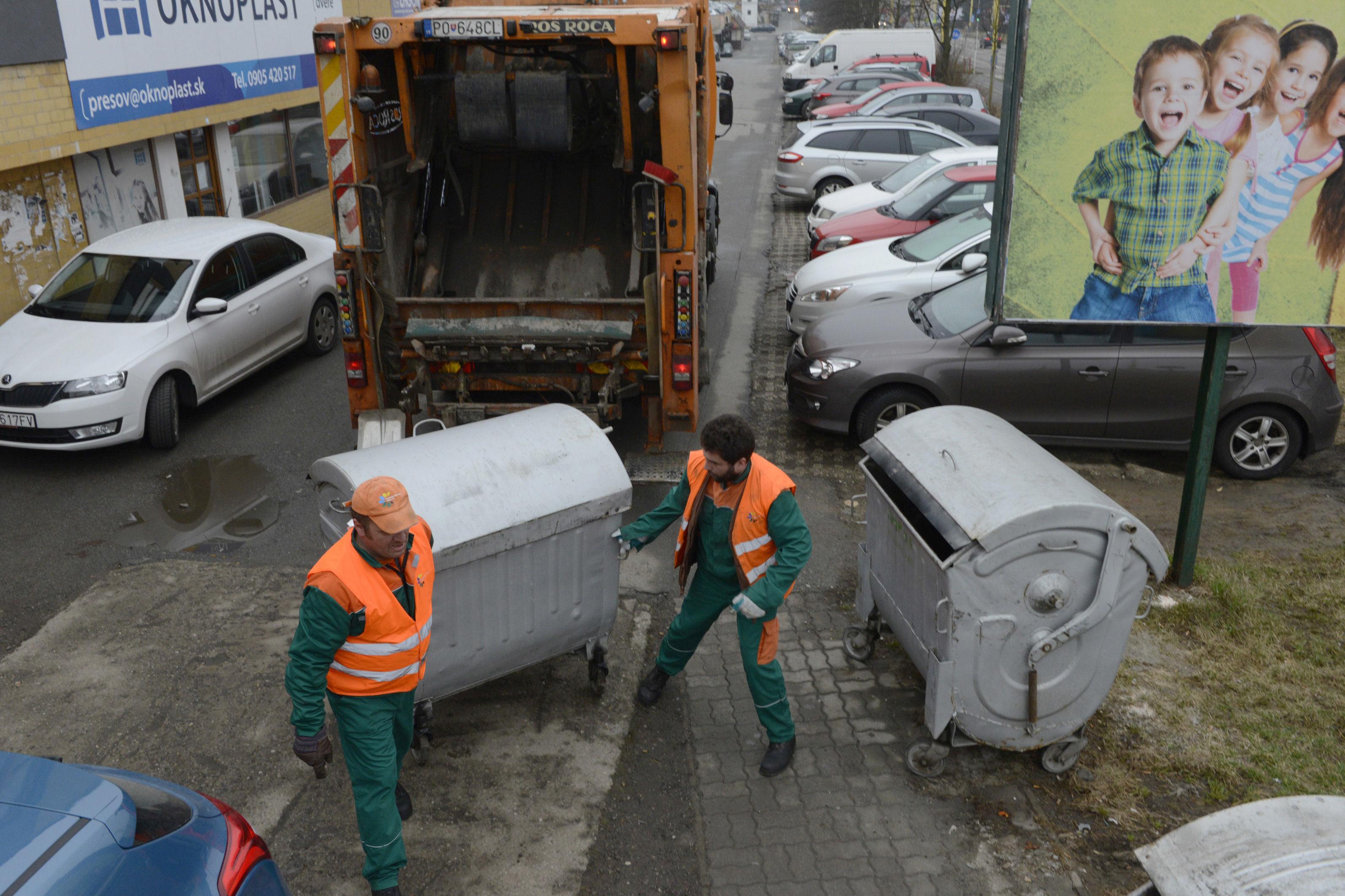 Likvidácia odpadu v Prešove