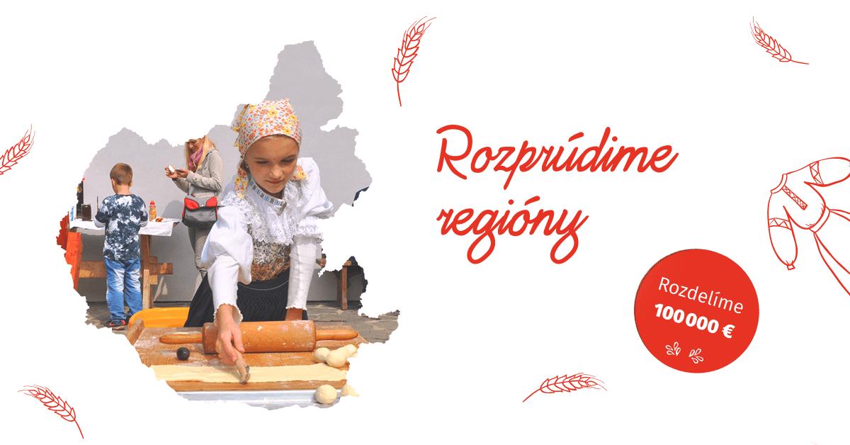 Rozprúdime regióny Nadácia ZSE 2017
