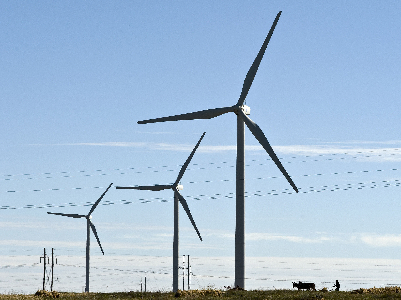 veterné turbíny čína
