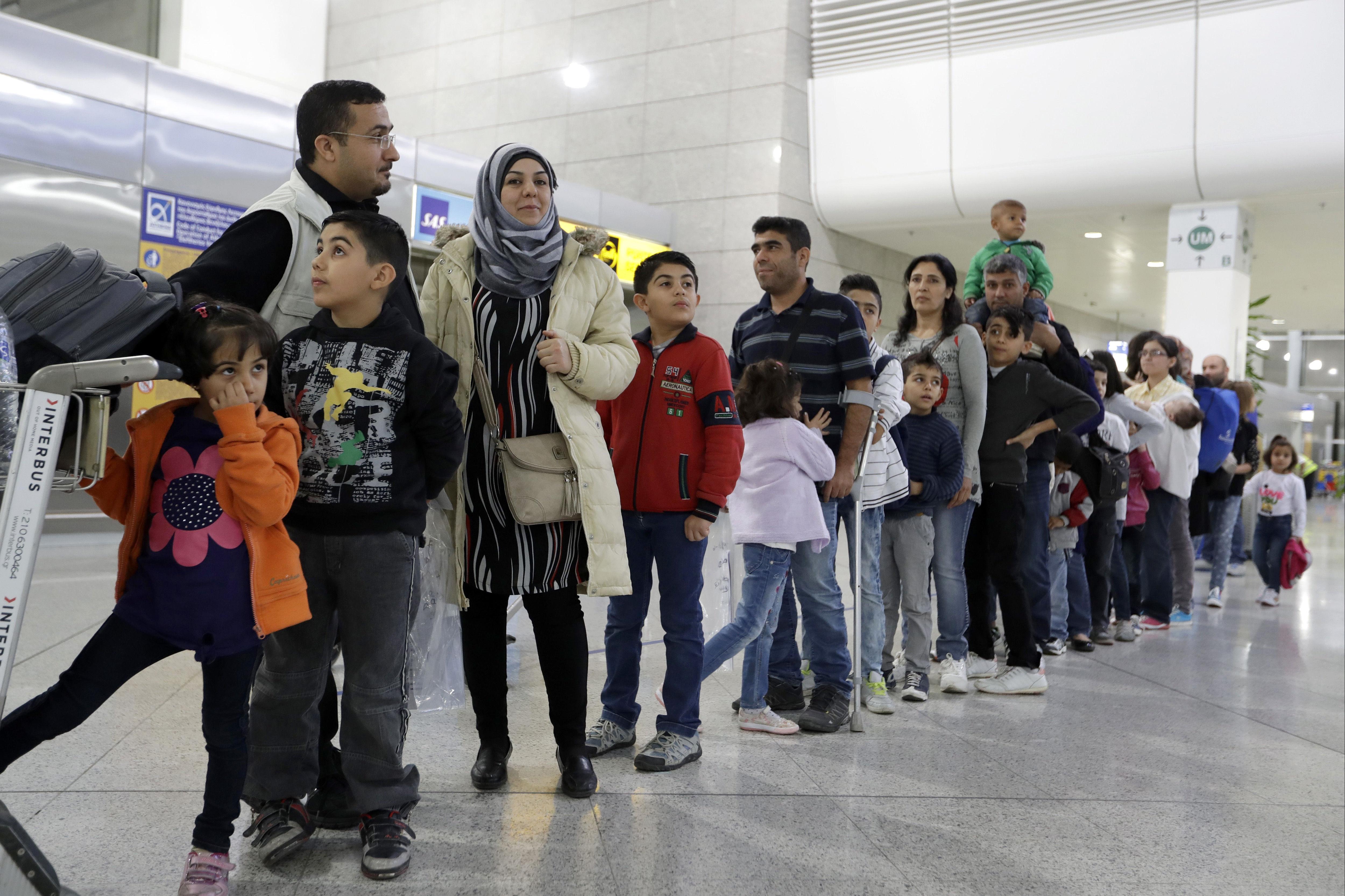 Utečenci v Aténach