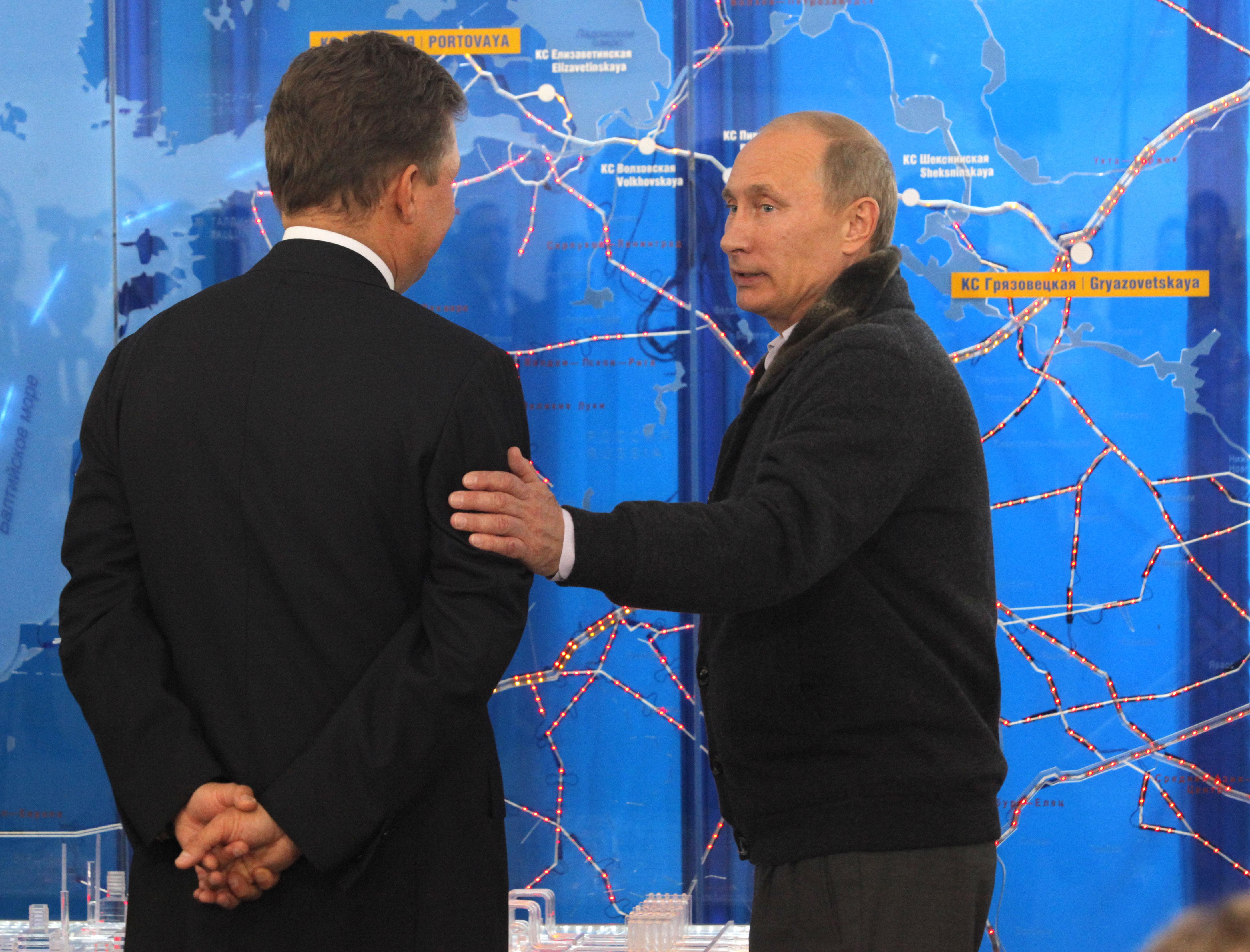 Putin, Miller