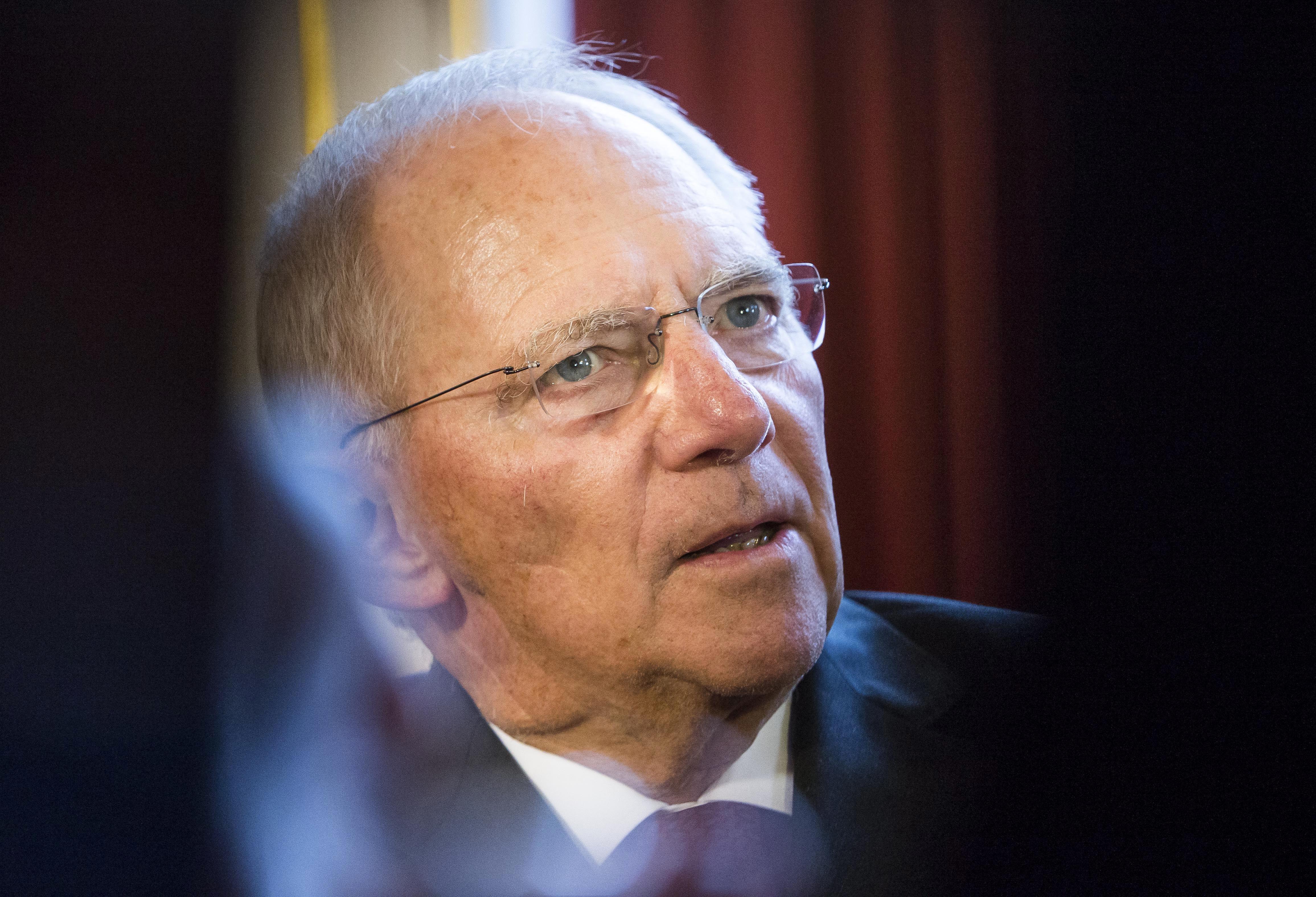 Kľúčový minister eurozóny Wolfgang Schäuble