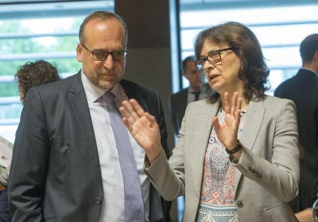 Ministerka spravodlivosti Žitňanská a stály predstaviteľ v Bruseli Javorčík